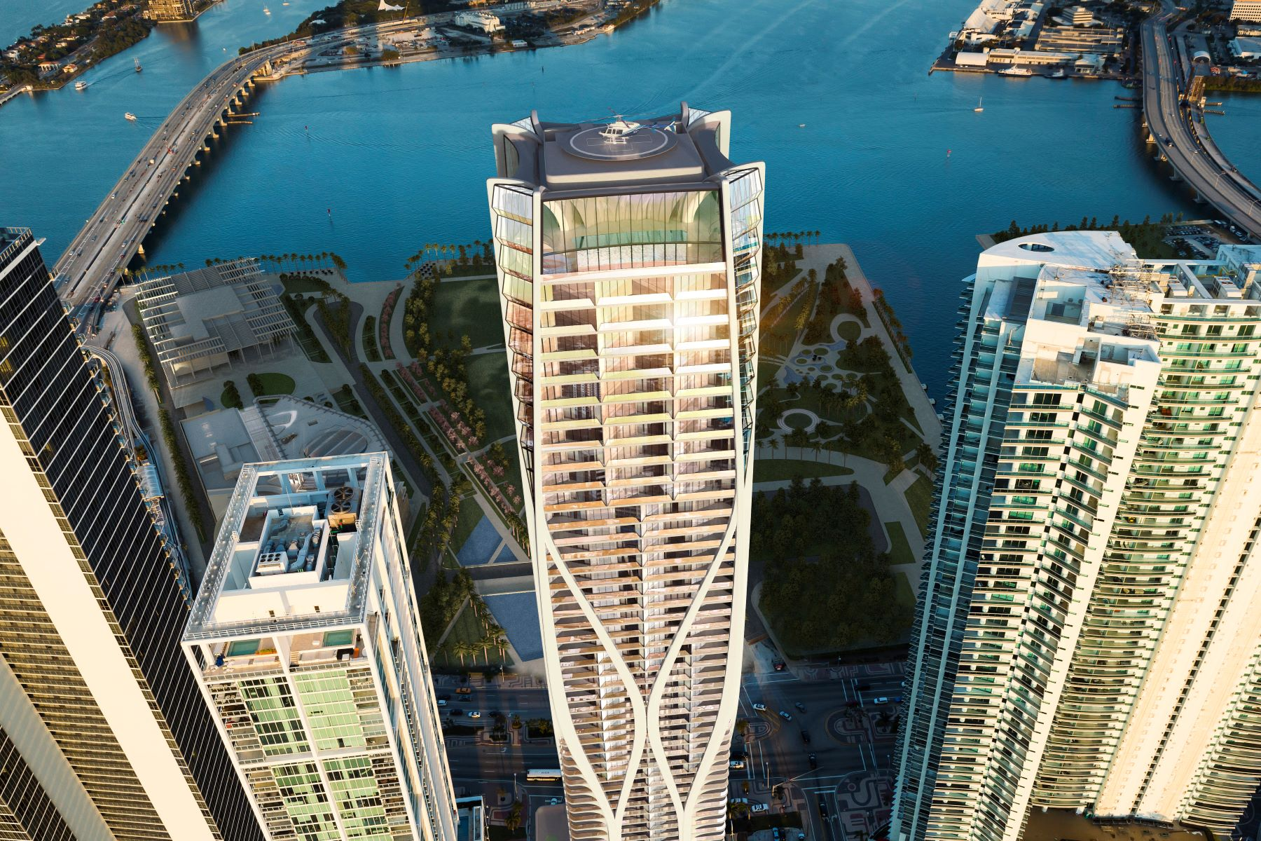 Condominiums for Sale at 1000 Biscayne Blvd 4202 Miami, Florida 33132 United States