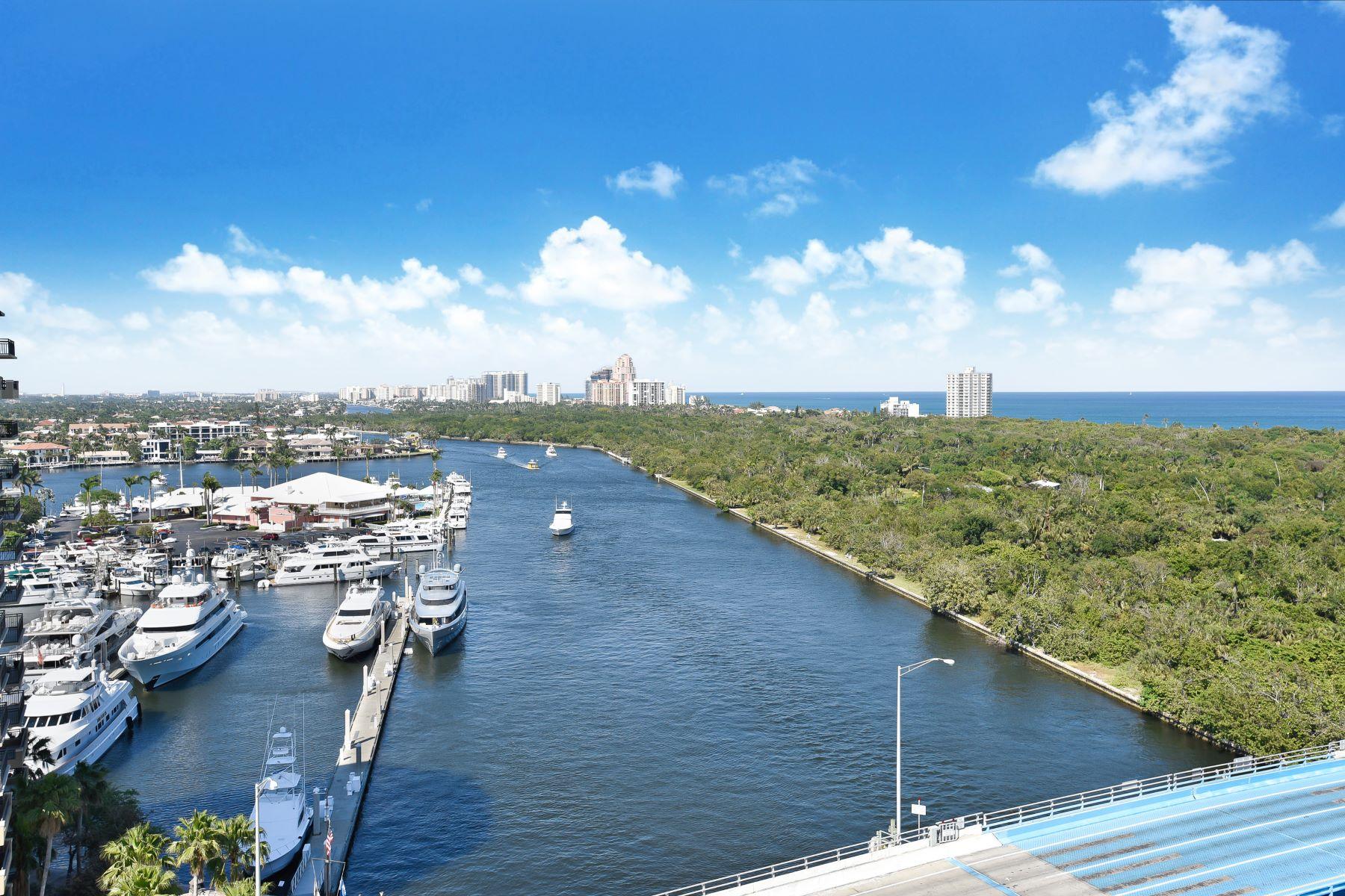 共管物業 為 出售 在 2670 E Sunrise Blvd 2670 E Sunrise Blvd PH1428, Fort Lauderdale, 佛羅里達州, 33304 美國