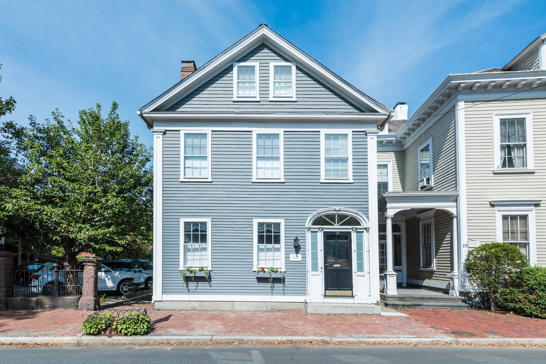 Single Family Home for Sale at 24 Benefit St, East Side Of Prov, RI College Hill, Providence, Rhode Island, 02904 United States