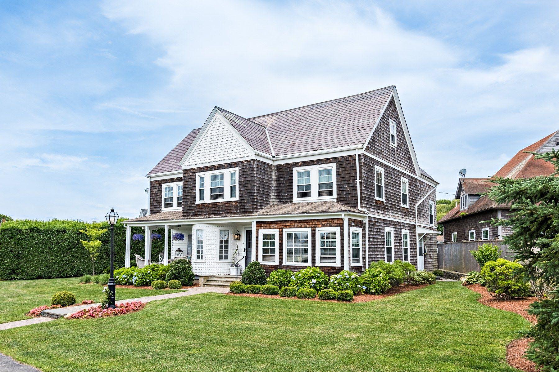 single family homes for Sale at 6 Renfrew Park Av, Middletown, RI Middletown, Rhode Island 02842 United States