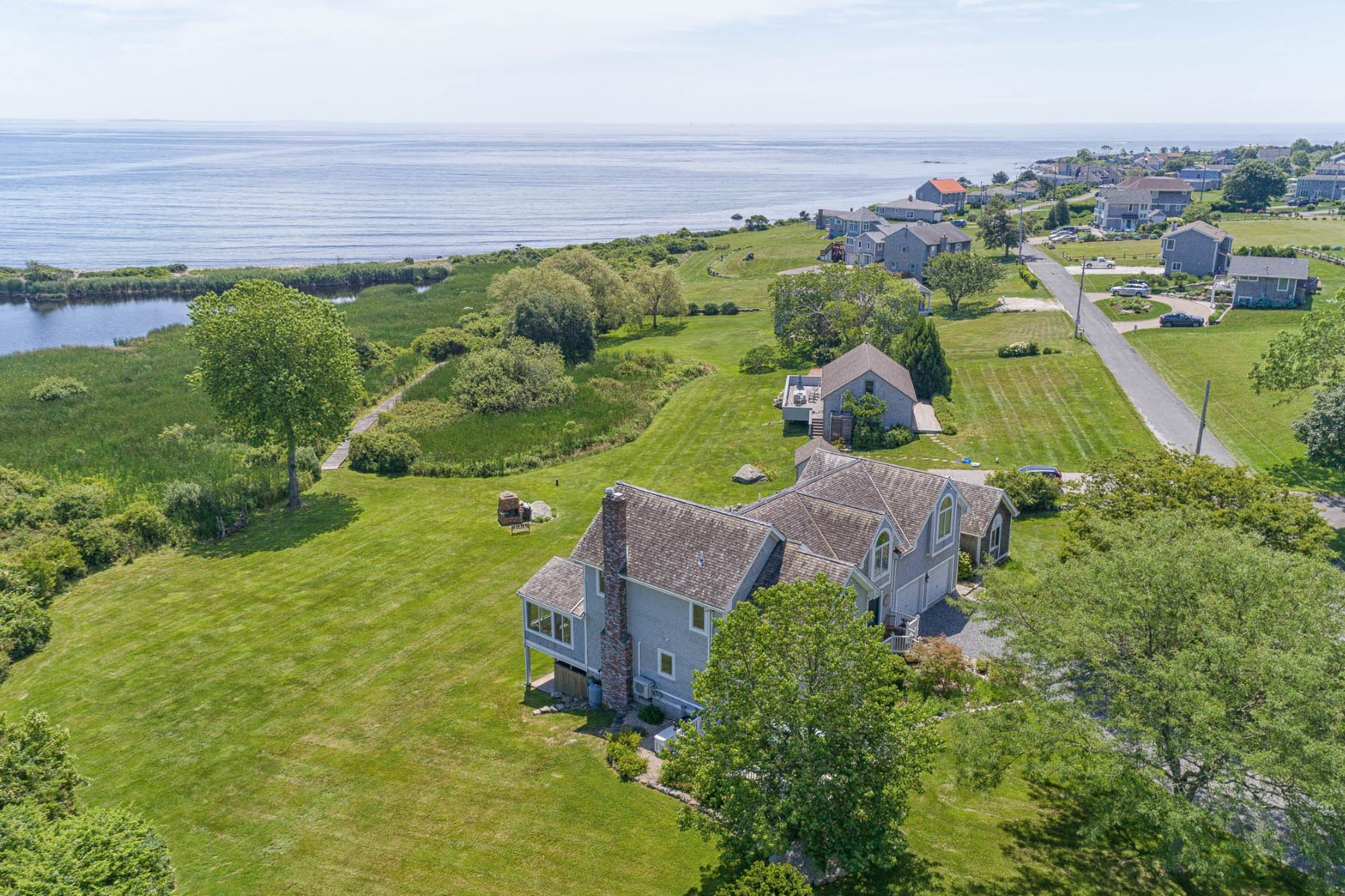 Single Family Homes for Sale at 6 Ocean Drive, Little Compton, RI 6 Ocean Drive Little Compton, Rhode Island 02837 United States