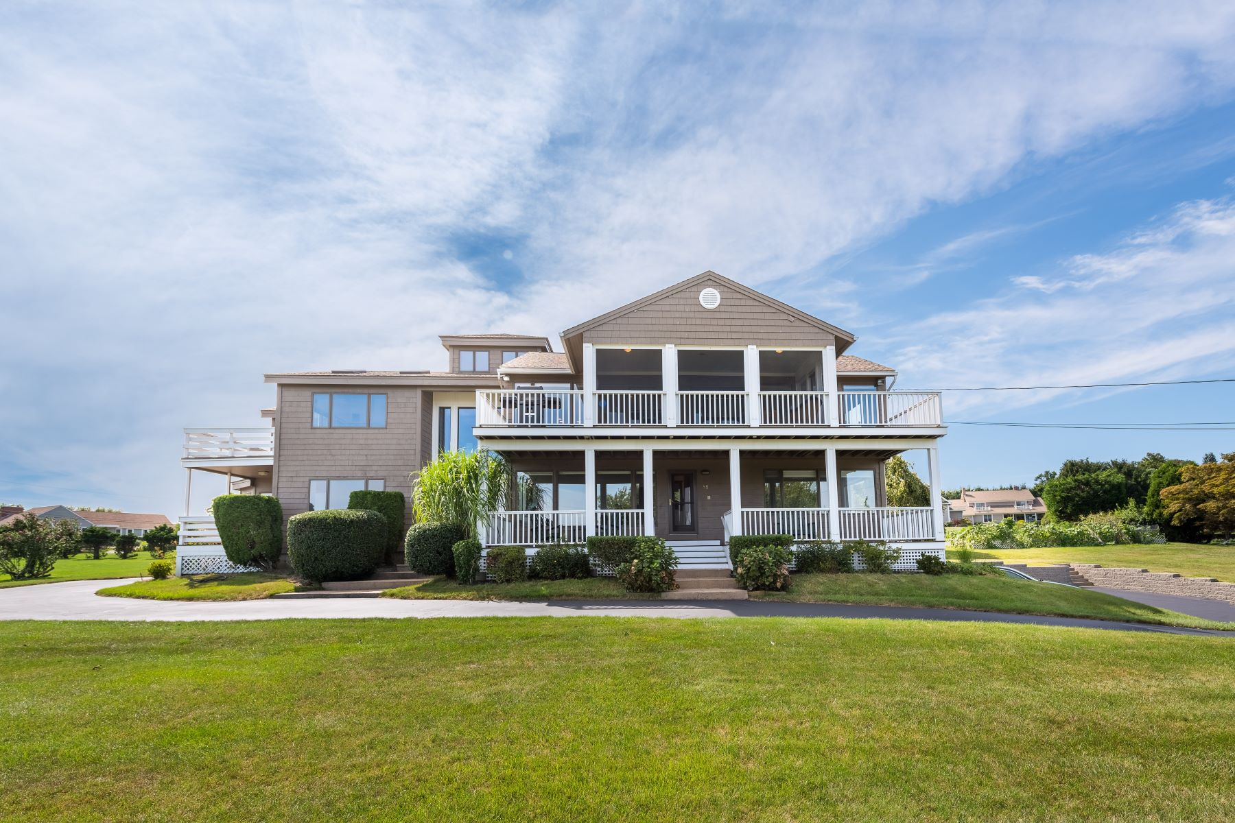 Single Family Homes for Sale at 85 North Cliff Drive, Narragansett, RI Narragansett, Rhode Island 02882 United States