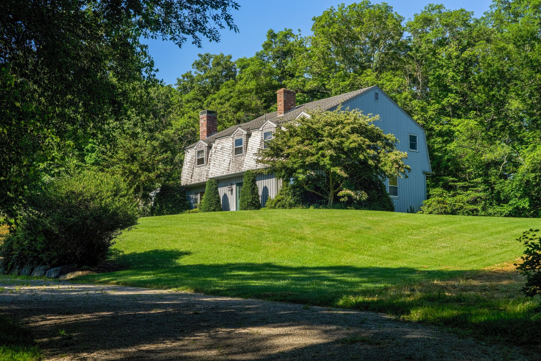Single Family Homes for Sale at 33 Big Drum Road, Little Compton, RI Little Compton, Rhode Island 02837 United States
