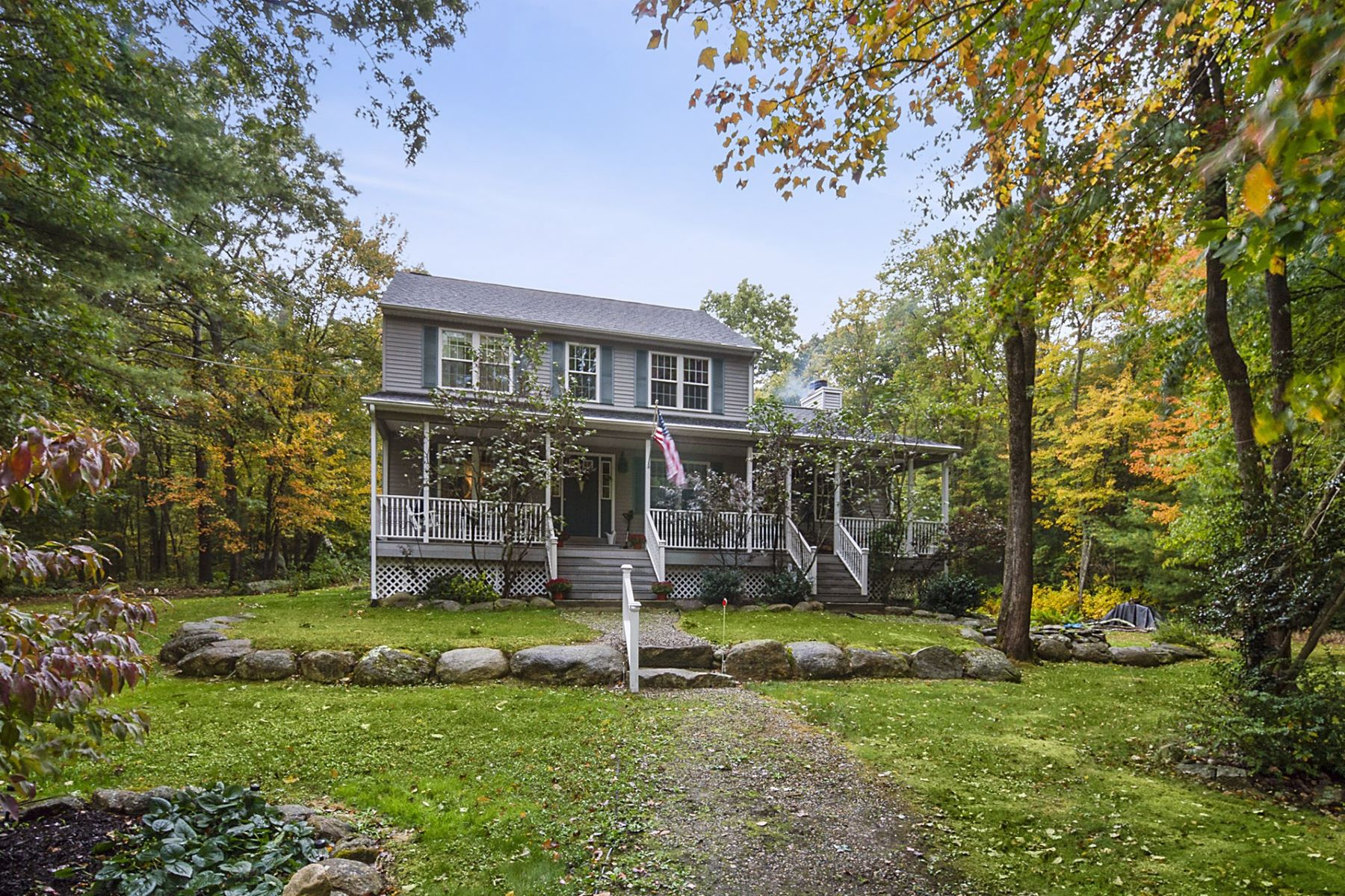 Single Family Homes for Sale at 1883 Snake Hill Road, Glocester, RI 1883 Snake Hill Road Glocester, Rhode Island 02814 United States