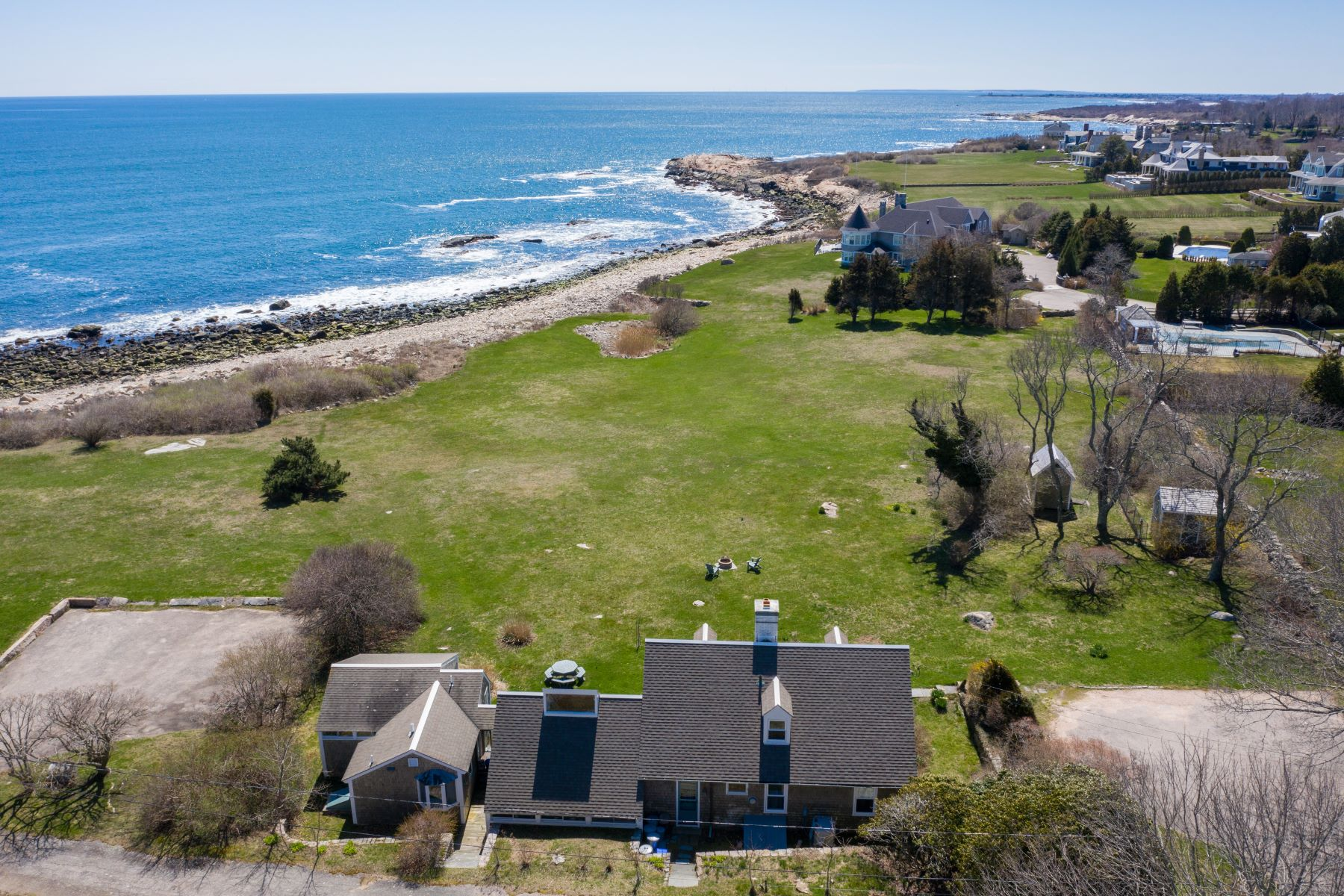 Single Family Homes for Sale at 12 Sea Gate Drive Narragansett, Rhode Island 02882 United States