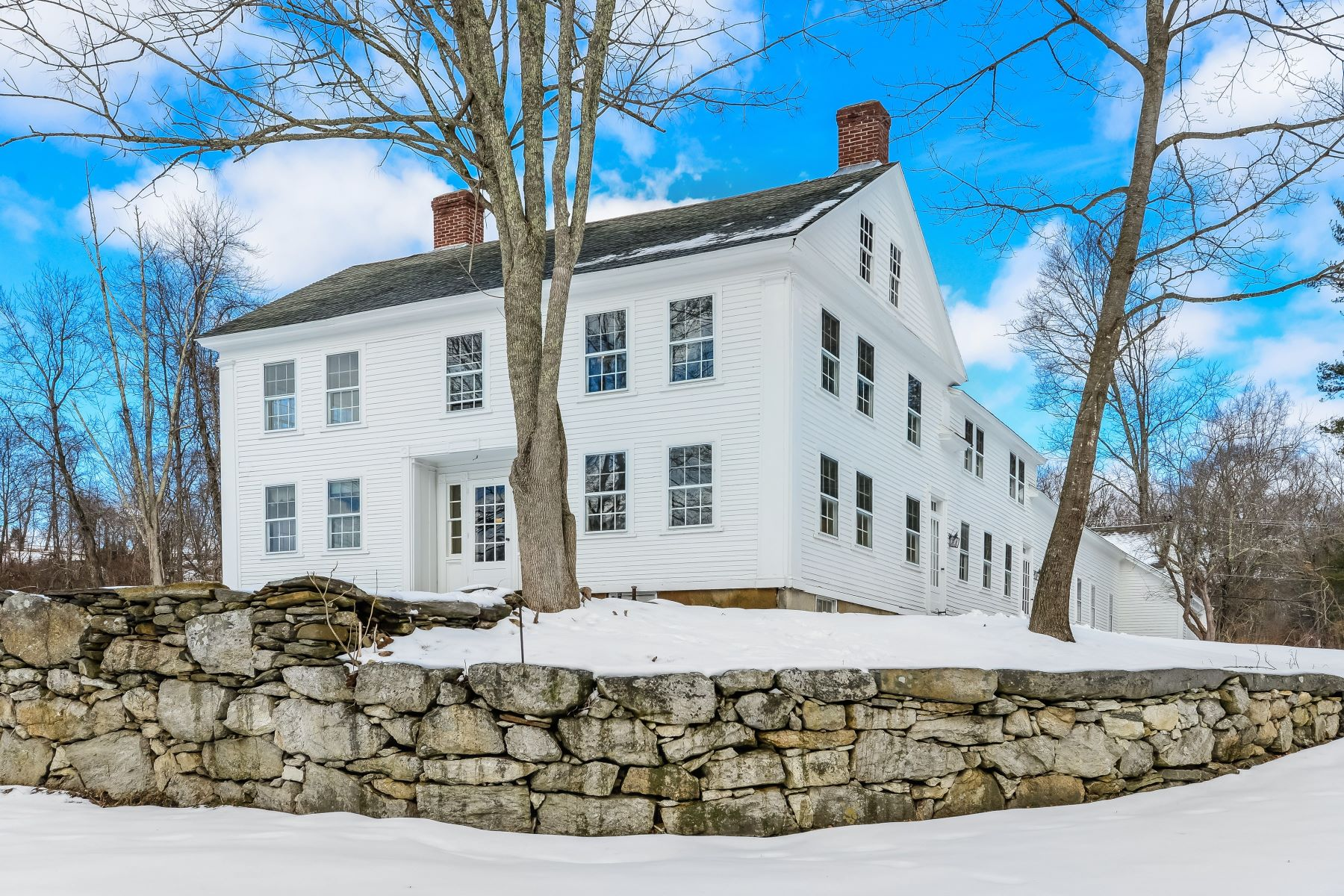 single family homes voor Verkoop op Stoneledge 378 Route 171, Woodstock, Connecticut 06281 Verenigde Staten