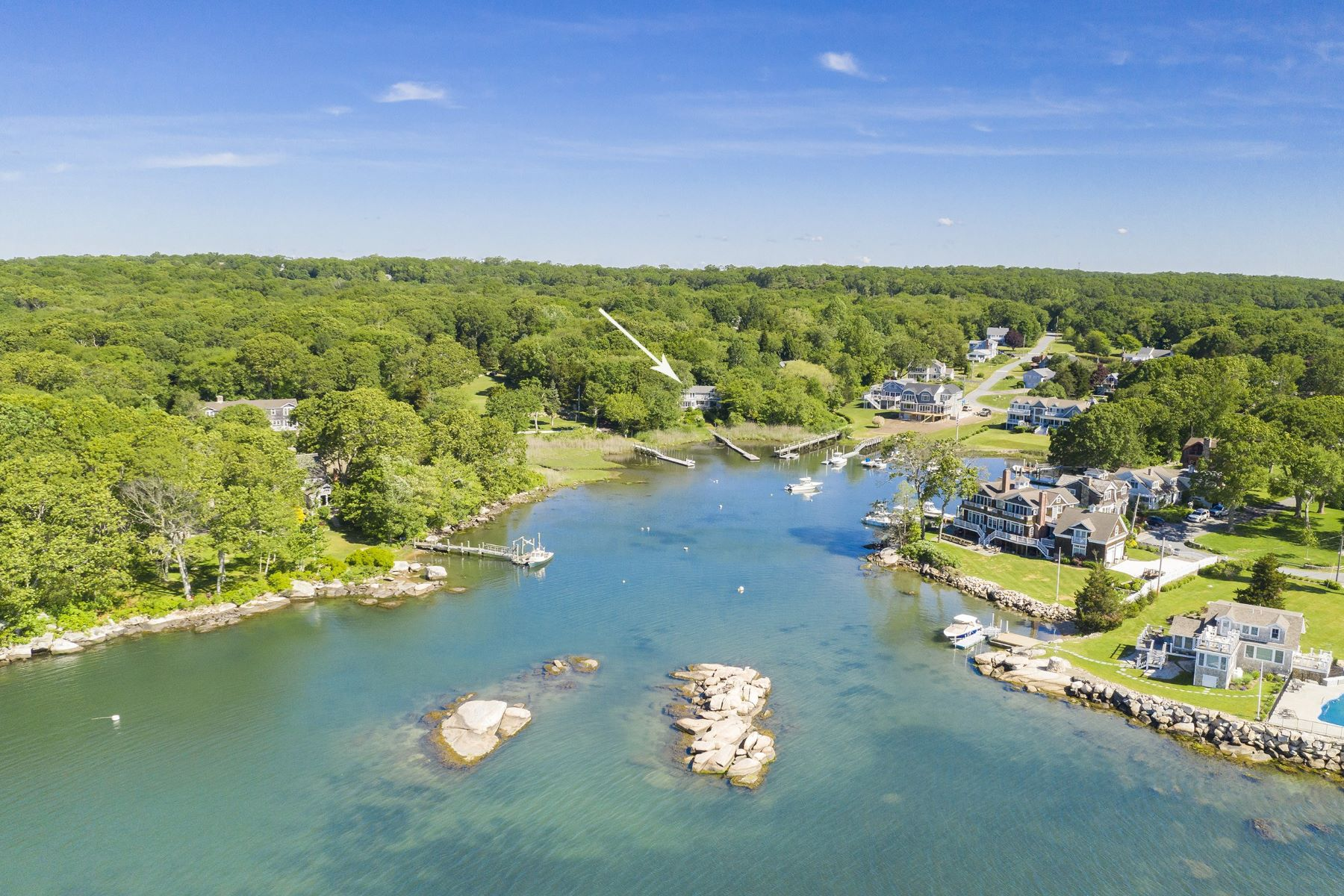 Single Family Homes for Sale at 110 Cove Point E, Charlestown, RI 110 Cove Point E Charlestown, Rhode Island 02813 United States
