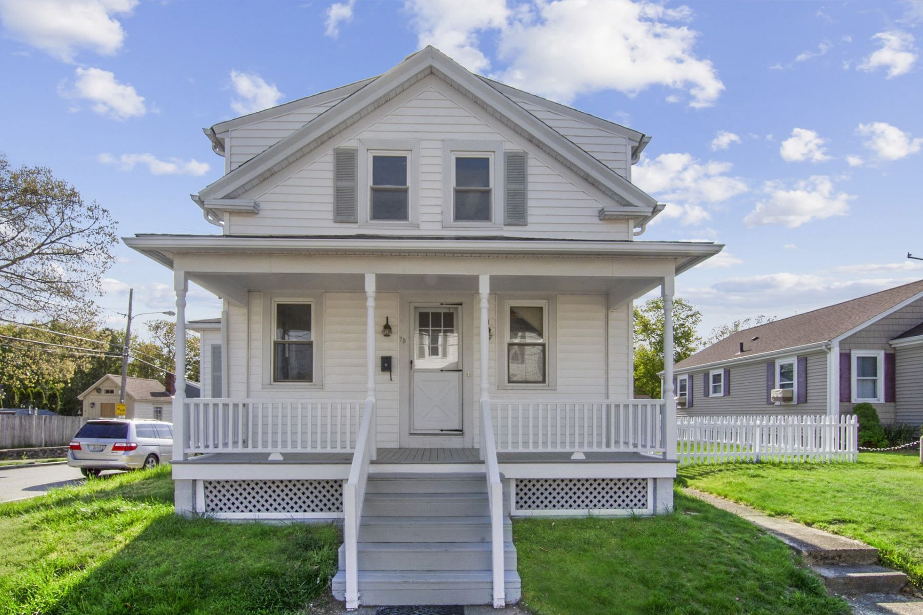 single family homes for Sale at 75 Harris St, East Providence, RI East Providence, Rhode Island 02915 United States