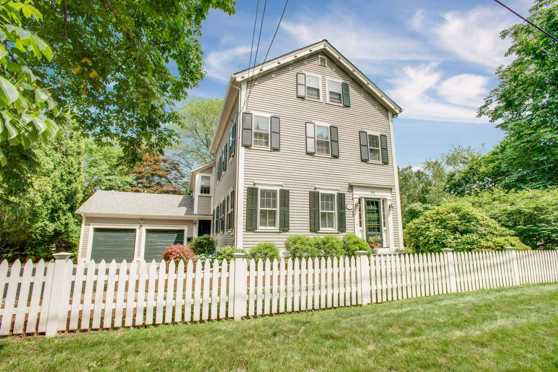 Single Family Homes for Sale at 24 Adams Point Road, Barrington, RI 24 Adams Point Road Barrington, Rhode Island 02806 United States