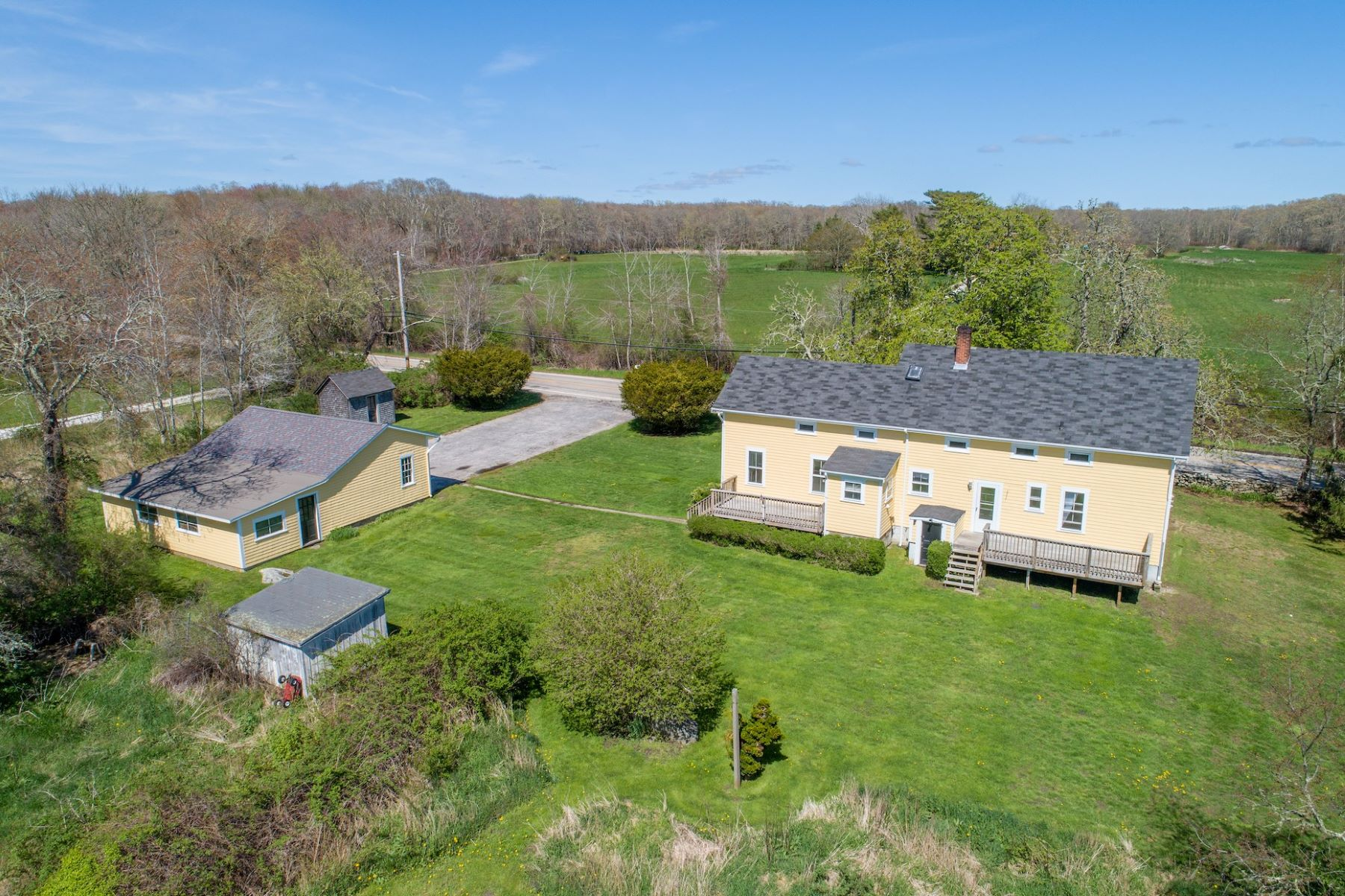Single Family Homes for Sale at 55 East Main Road, Little Compton, RI Little Compton, Rhode Island 02837 United States