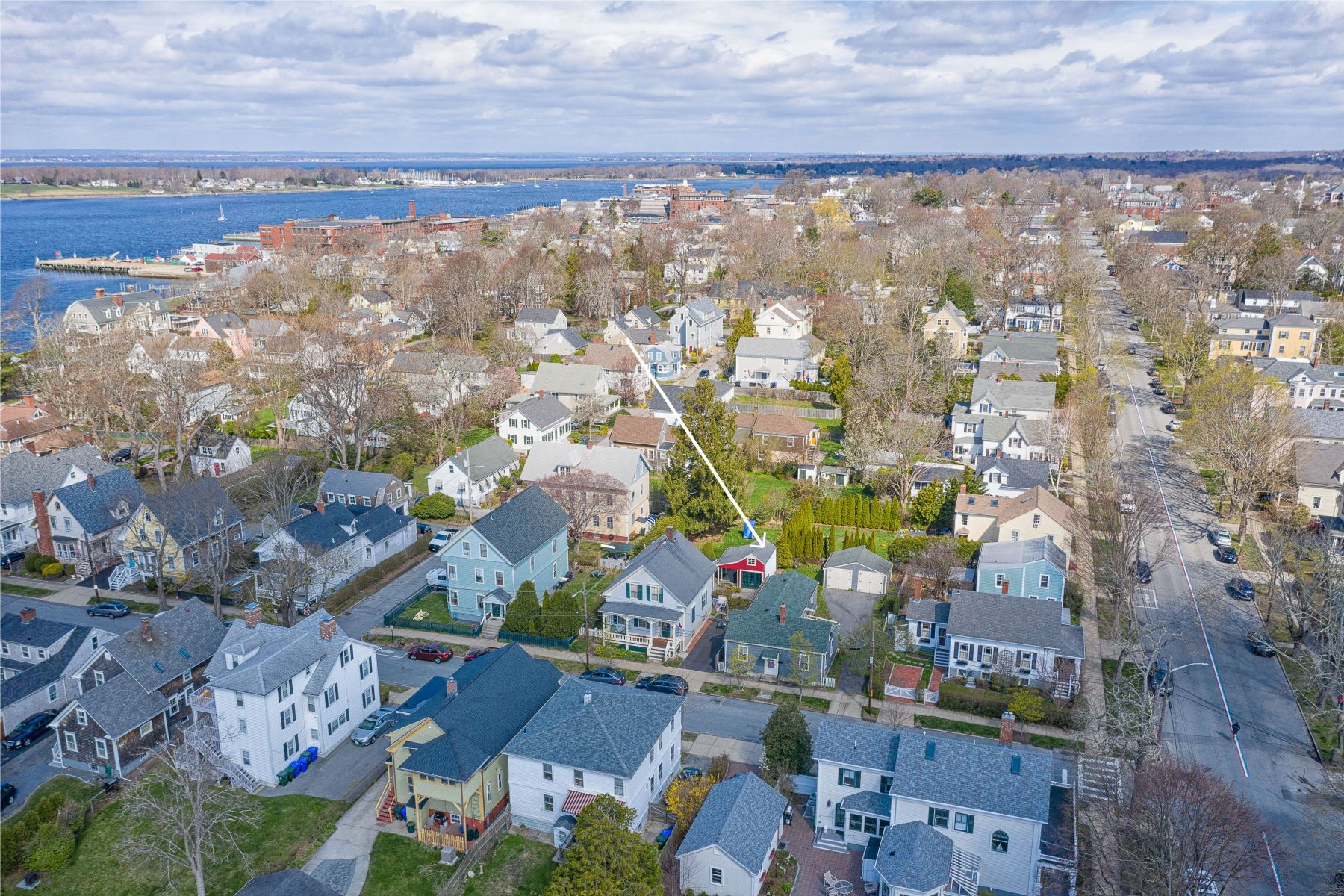 Single Family Homes for Sale at 37 Burton Street, Bristol, RI 37 Burton Street Bristol, Rhode Island 02809 United States