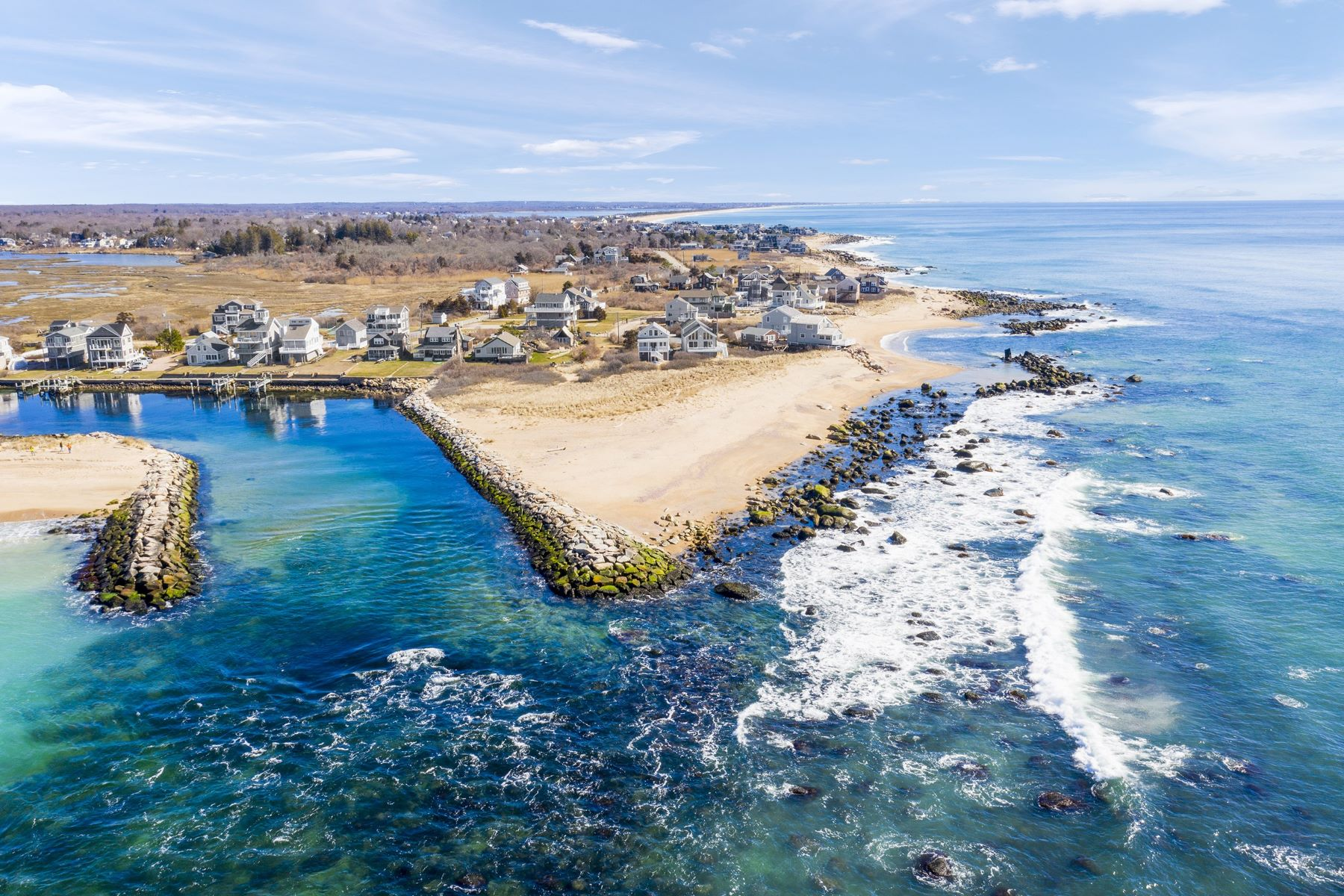 Single Family Homes for Sale at 19 West End Road, Charlestown, RI 19 West End Road Charlestown, Rhode Island 02813 United States