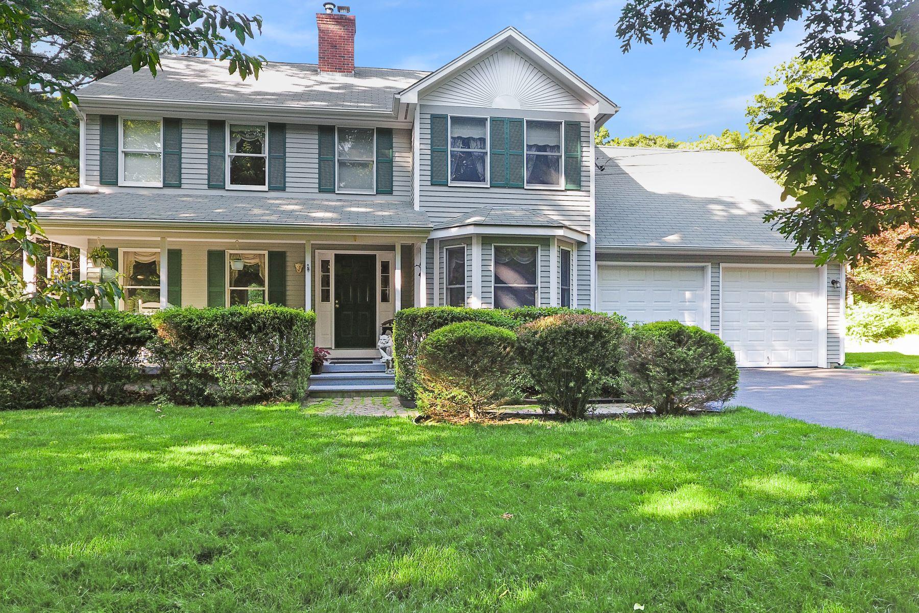 Single Family Homes por un Venta en 232 Wolf Rock Road, Exeter, RI 232 Wolf Rock Road Exeter, Rhode Island 02822 Estados Unidos