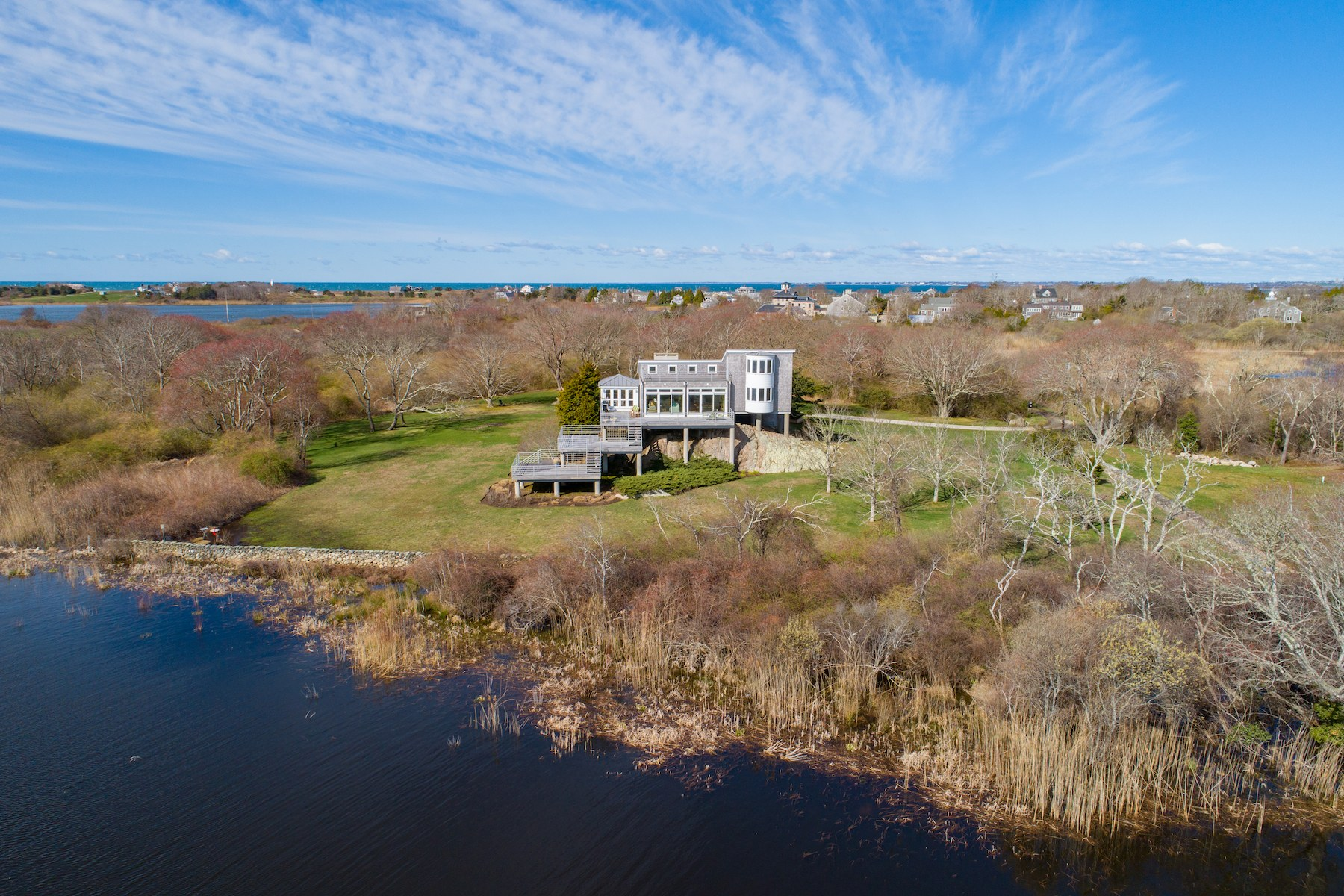 Single Family Homes for Sale at 120 Sakonnet Point Road, Little Compton, RI 120 Sakonnet Point Road Little Compton, Rhode Island 02837 United States