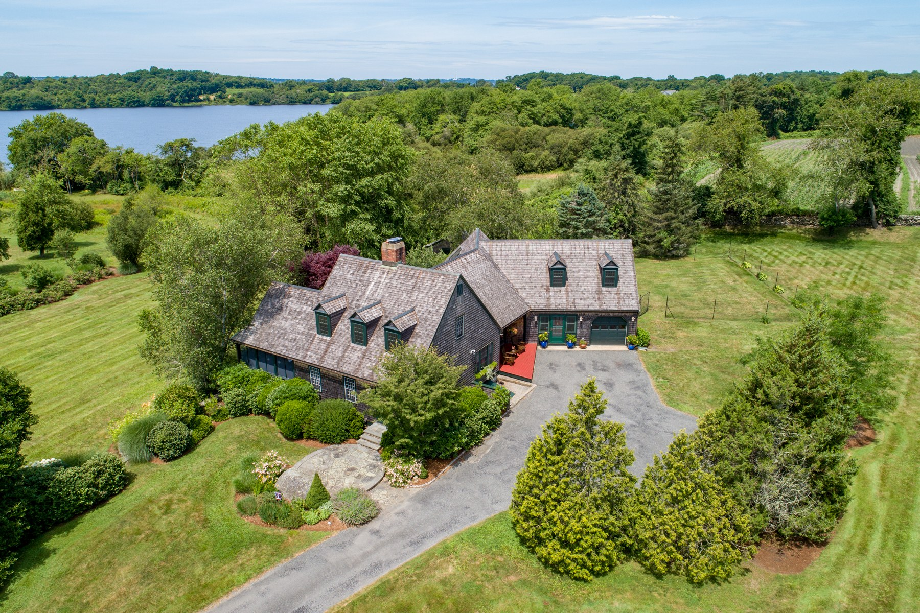 Single Family Homes for Sale at 55 Peaceful Way, Tiverton, RI 55 Peaceful Way Tiverton, Rhode Island 02878 United States