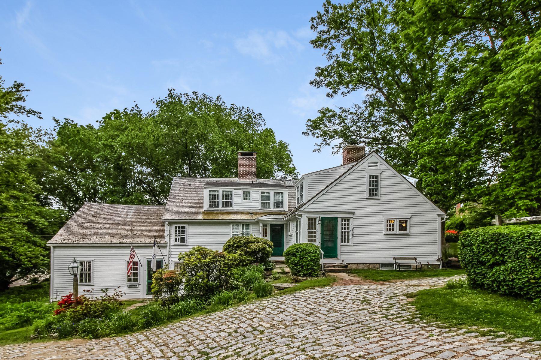 Частный односемейный дом для того Продажа на 56 Main St, Scituate, RI Scituate, Род-Айленд 02831 Соединенные Штаты