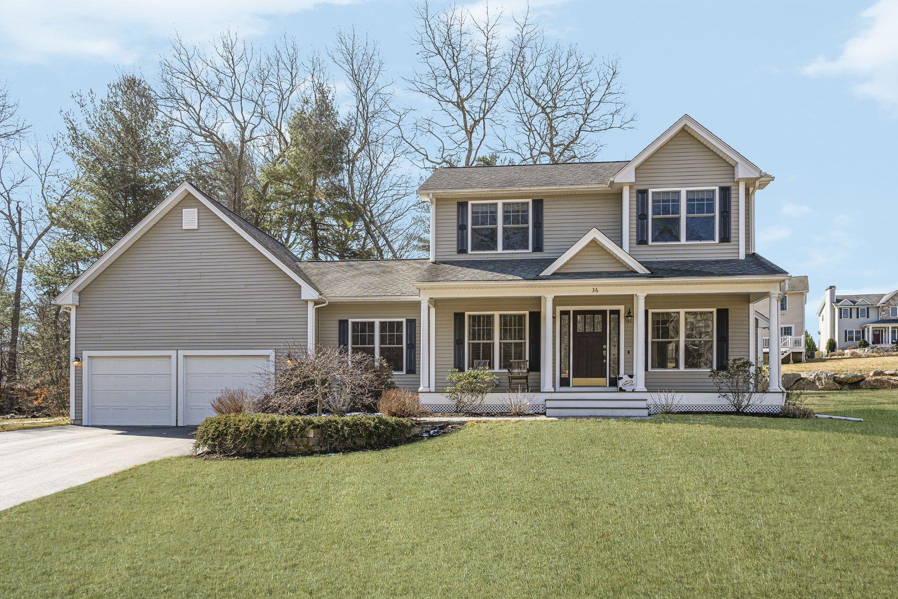 Single Family Homes para Venda às 36 Scenic Way, Exeter, RI 36 Scenic Way Exeter, Rhode Island 02822 Estados Unidos