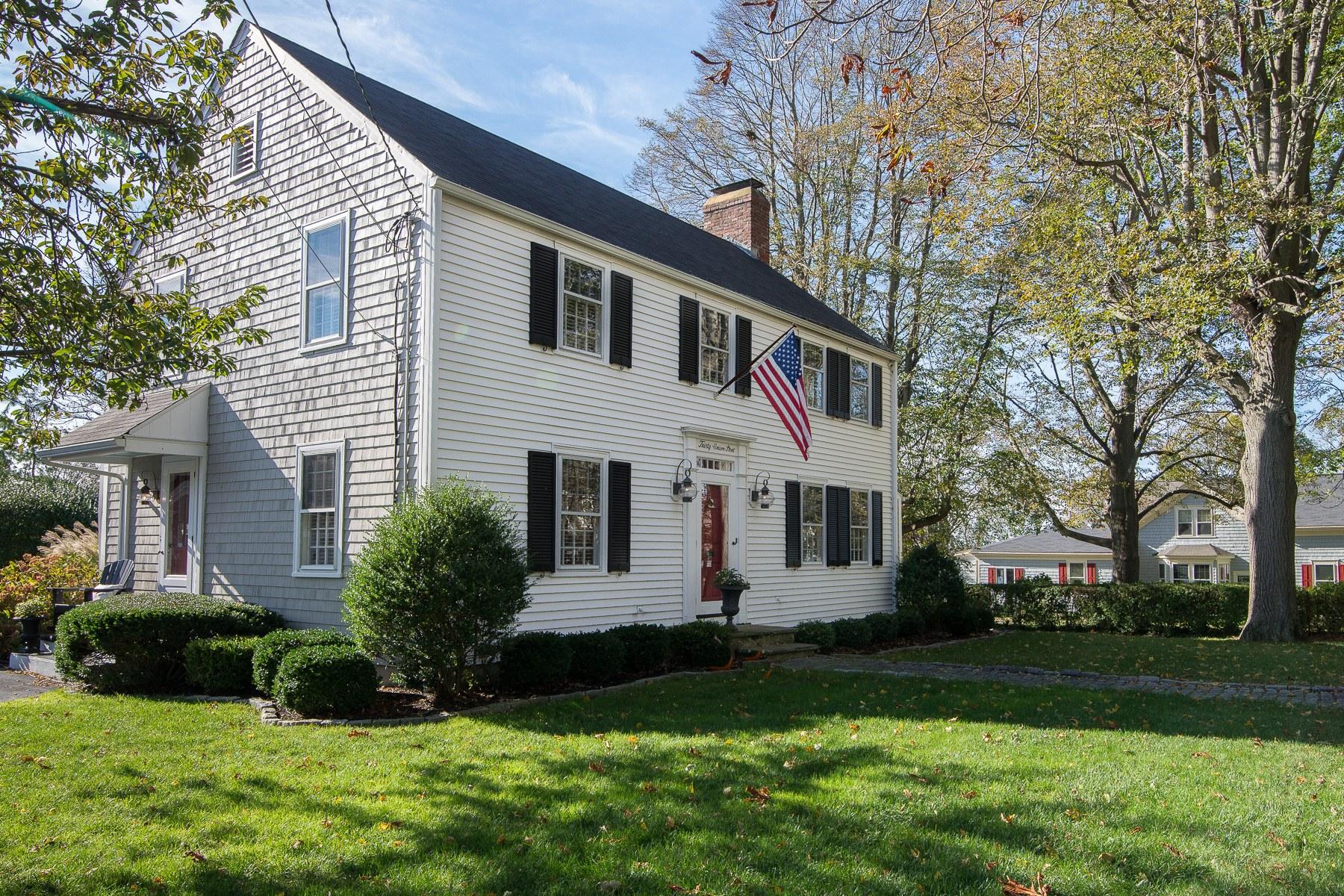 Casa Unifamiliar por un Venta en 30 Union St, Bristol, RI Bristol, Rhode Island 02809 Estados Unidos