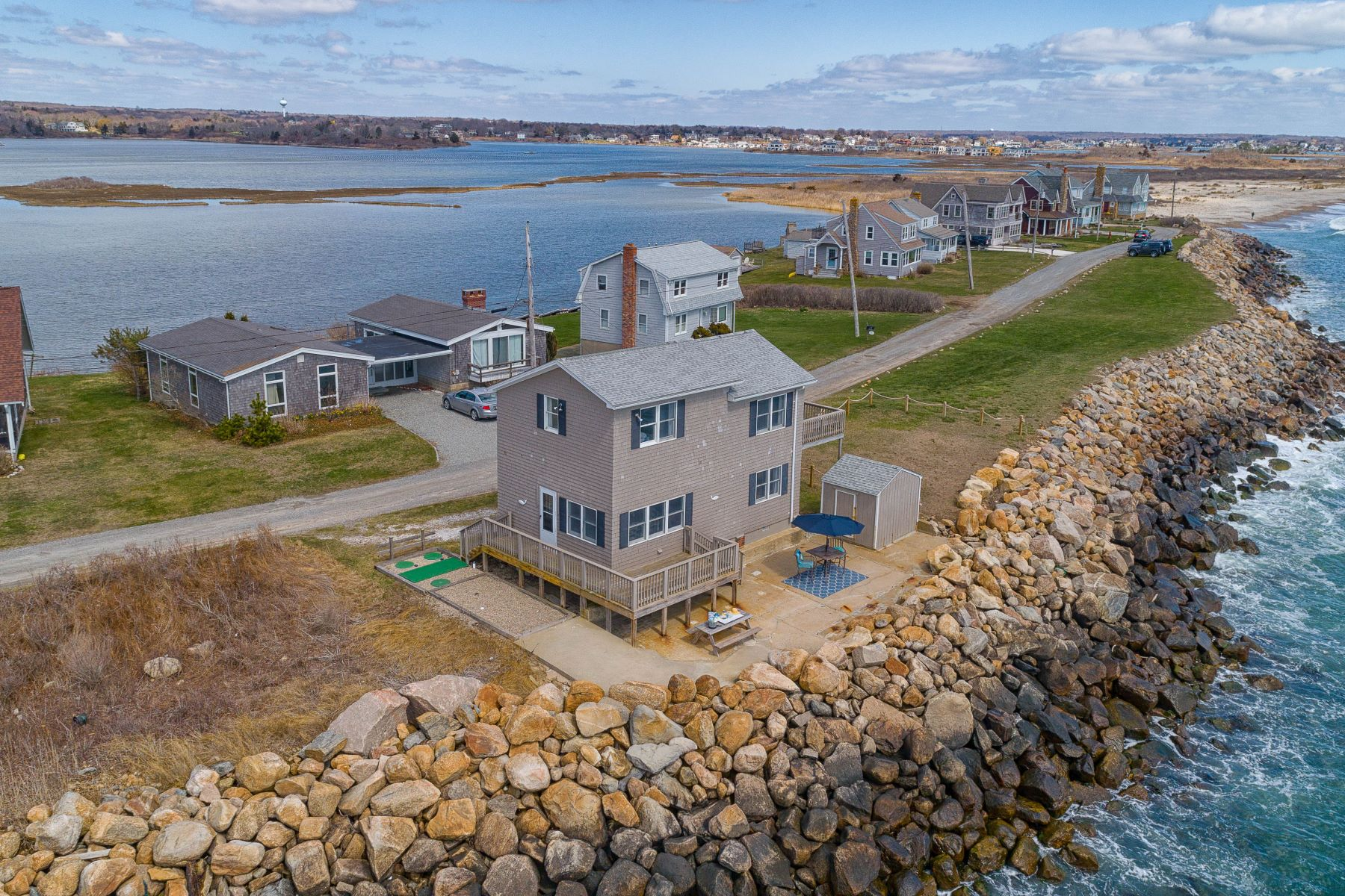 Single Family Homes for Sale at 149 Ocean Avenue, South Kingstown, RI 149 Ocean Avenue South Kingstown, Rhode Island 02879 United States