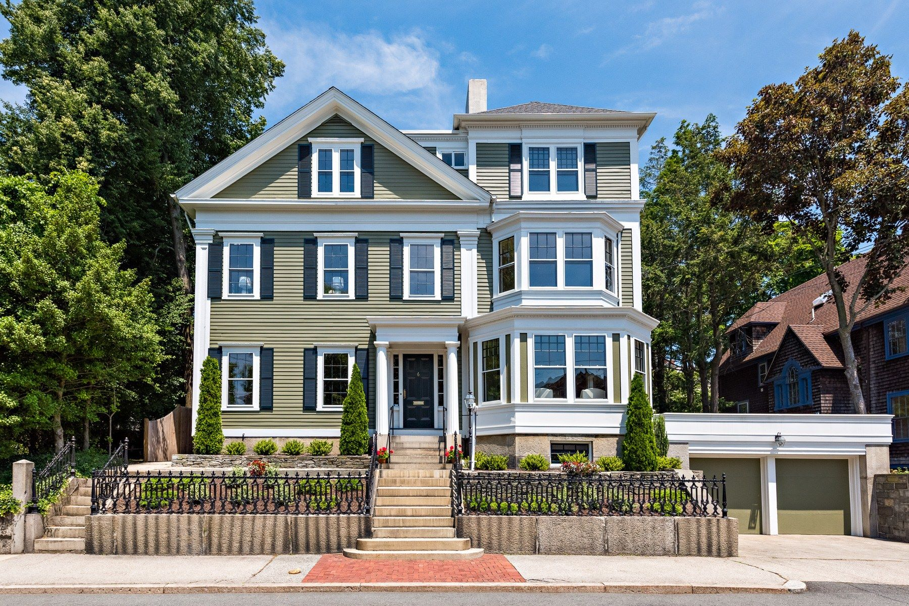 Single Family Homes for Sale at 6 Olive Street, East Side Of Providence, RI 6 Olive Street Providence, Rhode Island 02906 United States