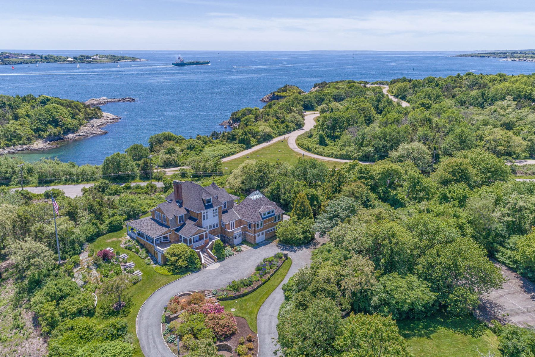Single Family Homes for Sale at 27 Newport Street, Jamestown, RI 27 Newport Street Jamestown, Rhode Island 02835 United States