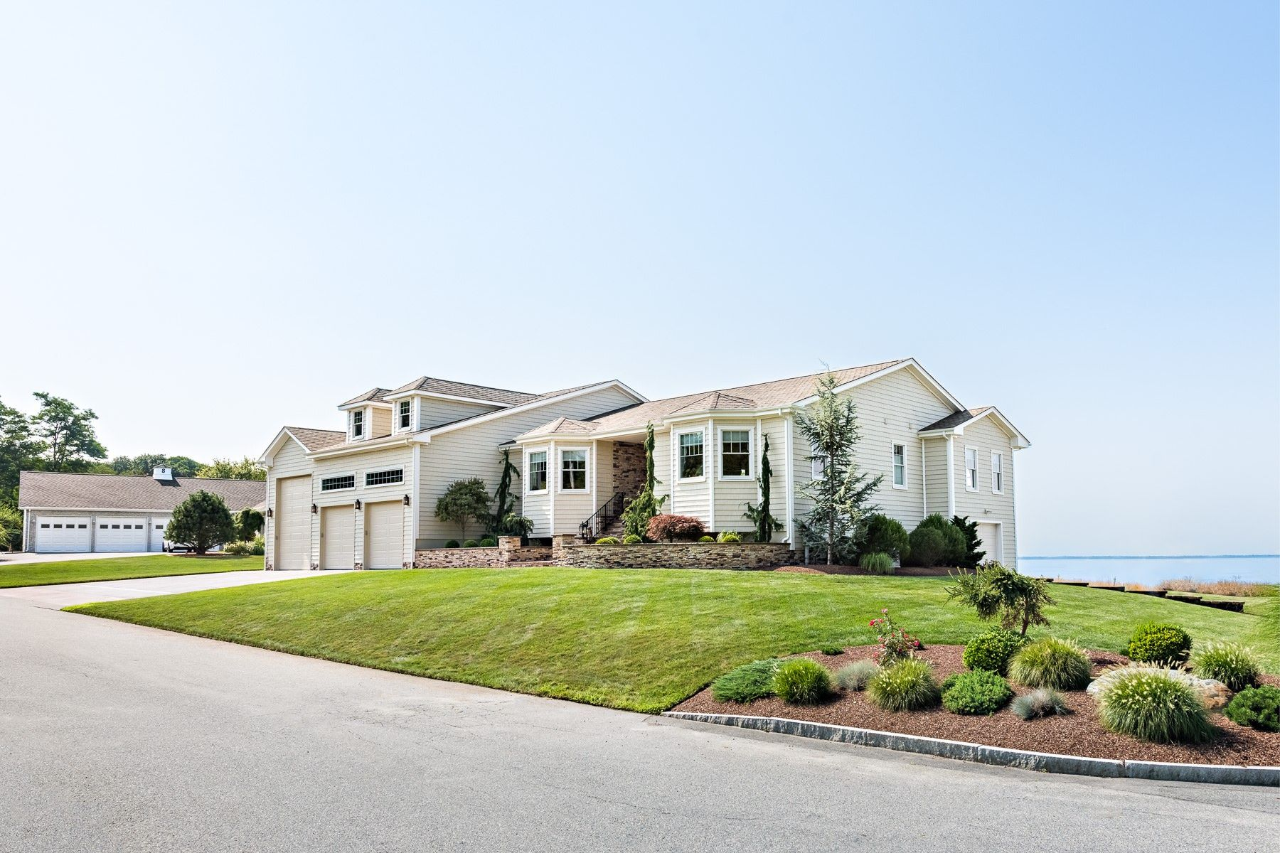 Single Family Homes for Sale at Beautiful Barrington Beachfront 1 Fessenden Road Barrington, Rhode Island 02806 United States