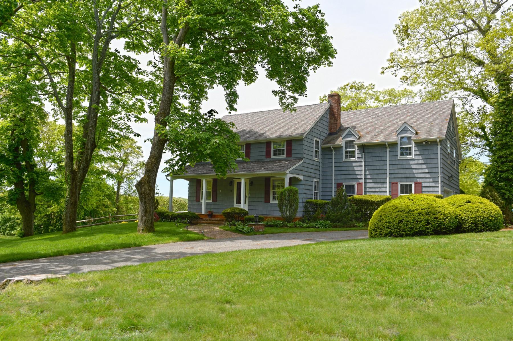 Casa para uma família para Venda às Colonial 9 Gracewood Ct Cove Neck, Nova York, 11771 Estados Unidos