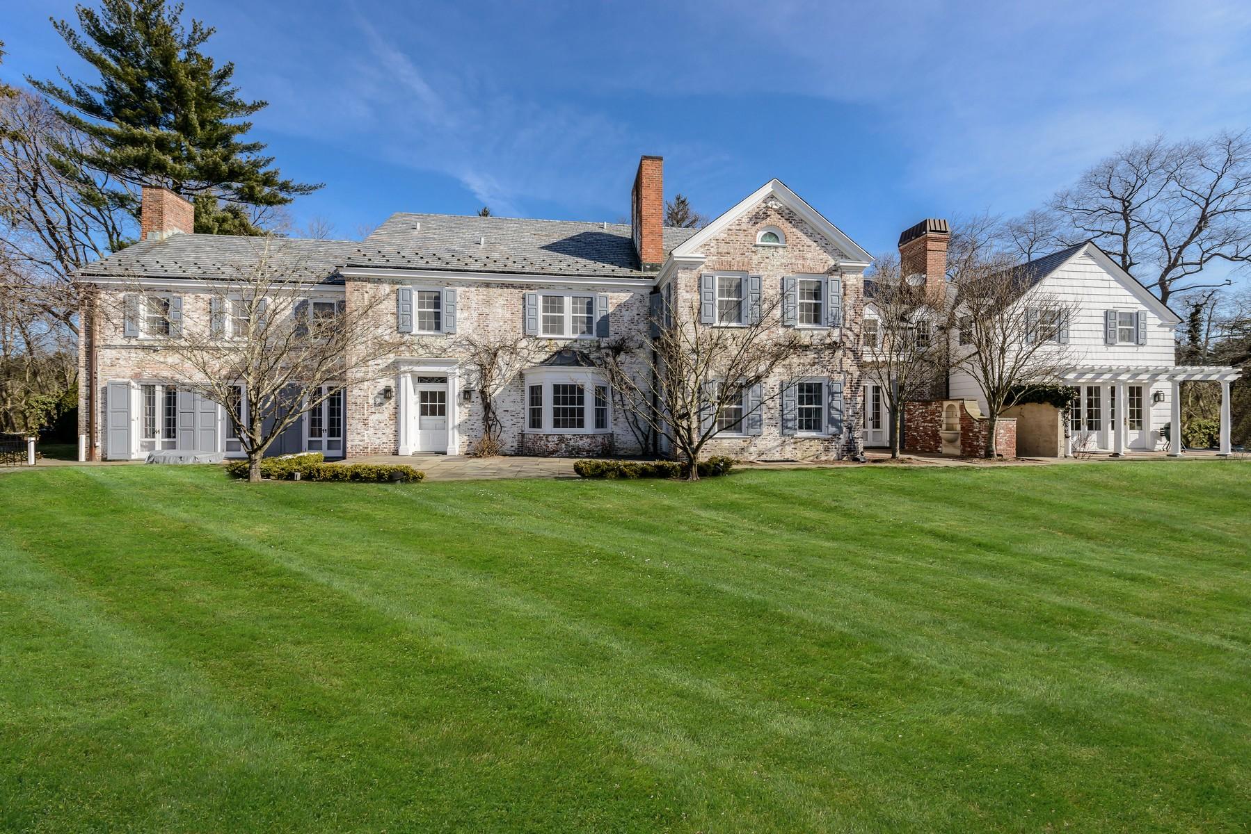 Tek Ailelik Ev için Satış at Estate 100 Valentines Ln Old Brookville, New York, 11545 Amerika Birleşik Devletleri