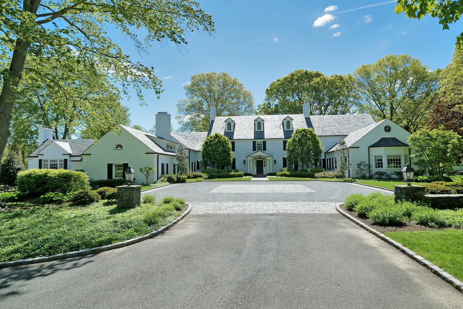 Tek Ailelik Ev için Satış at Estate 530 Chicken Valley Rd Matinecock, New York, 11560 Amerika Birleşik Devletleri