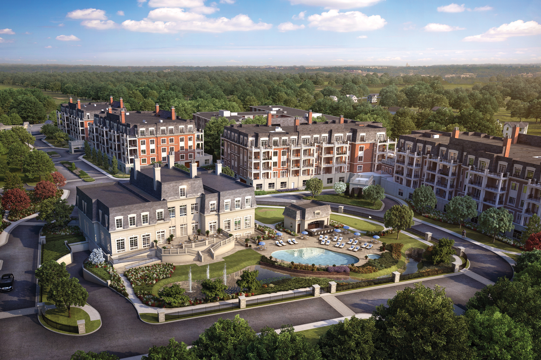 sales property at Ritz-Carlton Residences