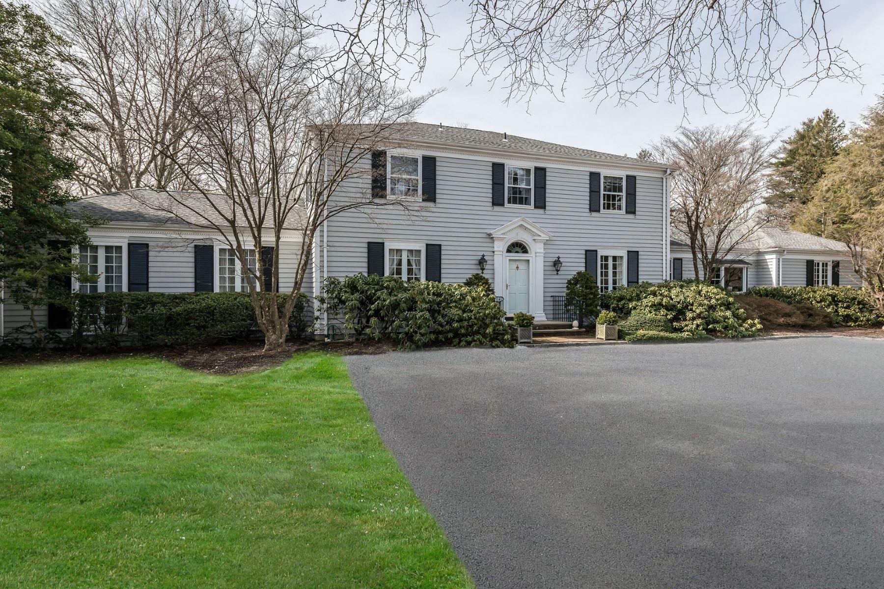 Частный односемейный дом для того Продажа на 152 Horseshoe Rd 152 Horseshoe Rd, Mill Neck, Нью-Йорк, 11765 Соединенные Штаты
