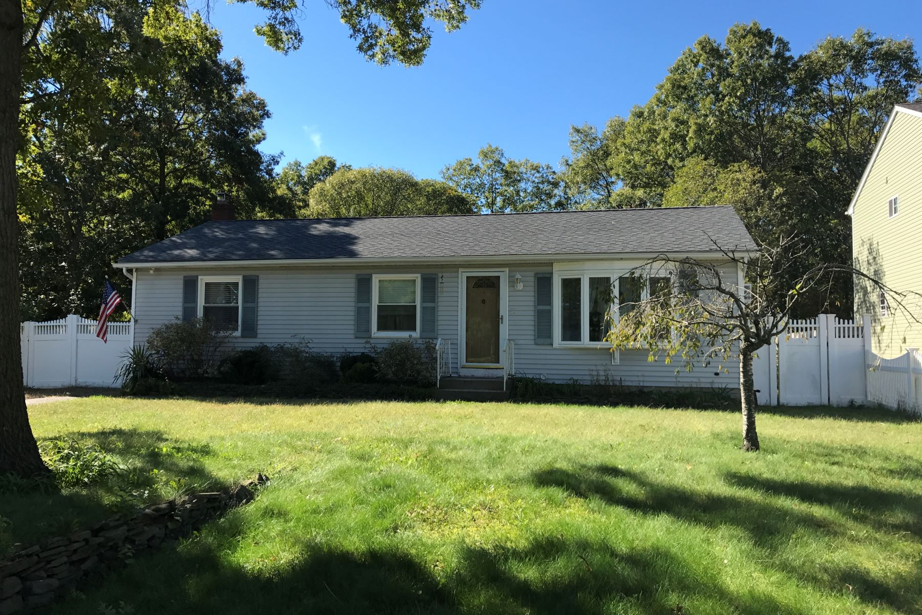 Single Family Home for Sale at Lovely Ranch 366 N Bicycle Path Port Jefferson Station, New York, 11776 United States