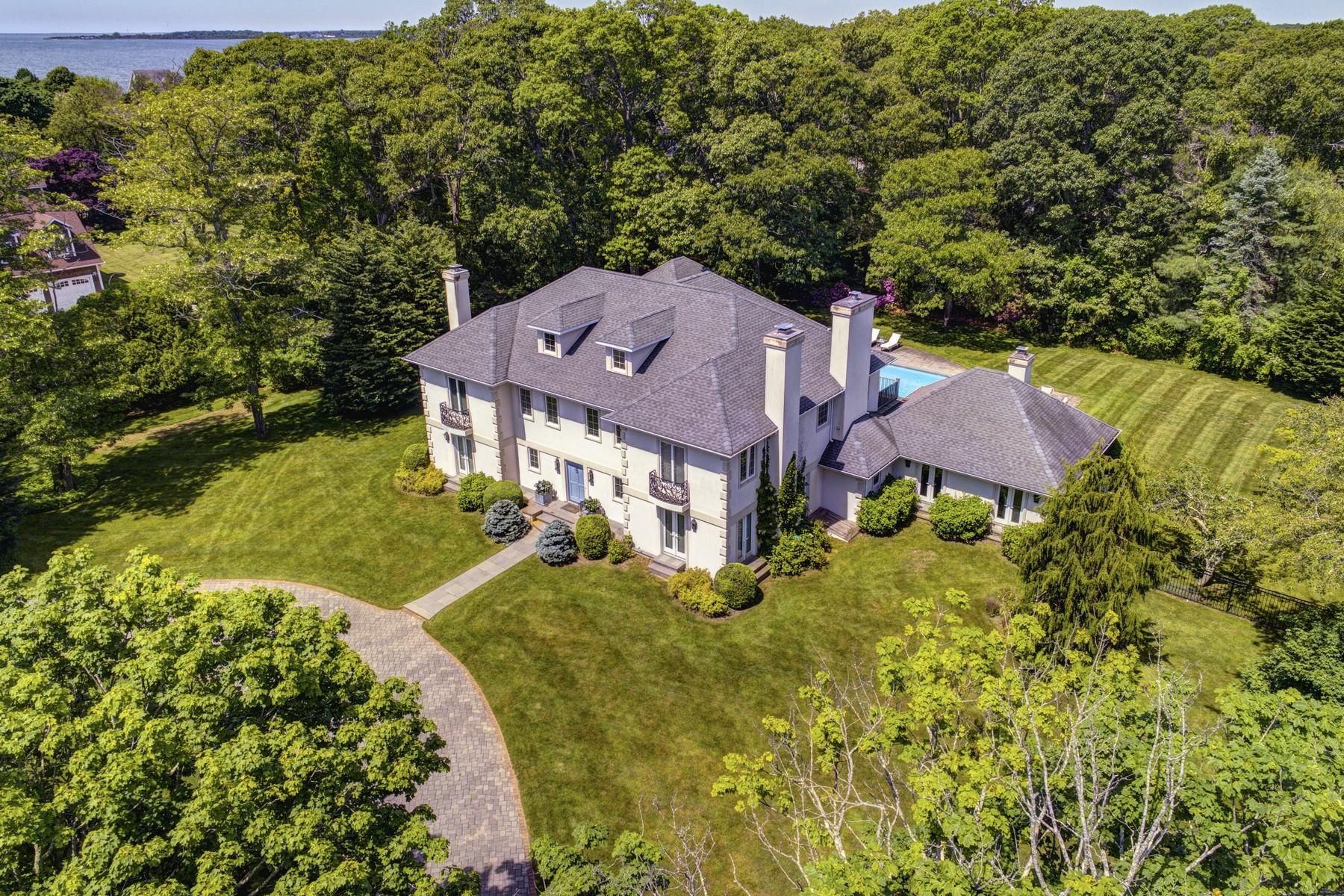 Villa per Vendita alle ore Colonial 23 Basket Neck Ln Remsenburg, New York, 11960 Stati Uniti