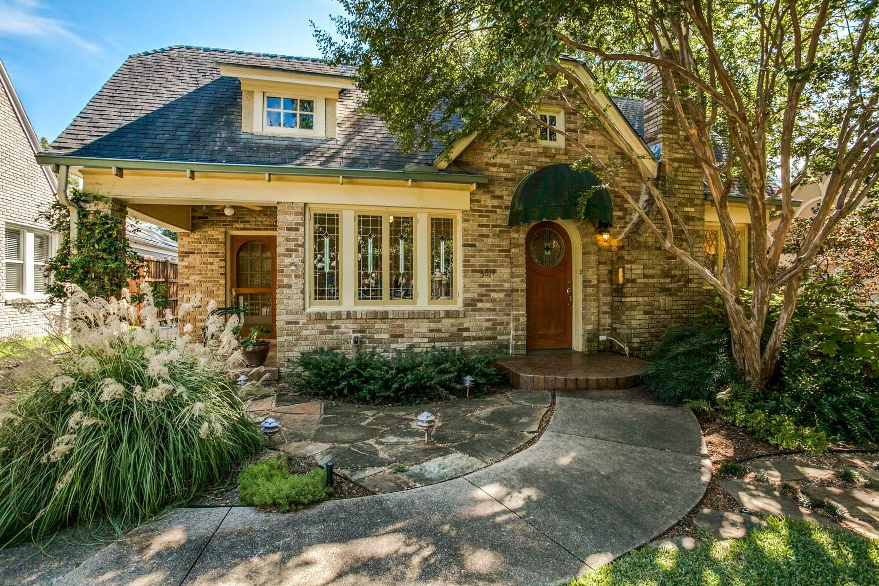 Vivienda unifamiliar por un Venta en 5614 Ridgedale Avenue, Dallas Dallas, Texas, 75206 Estados Unidos