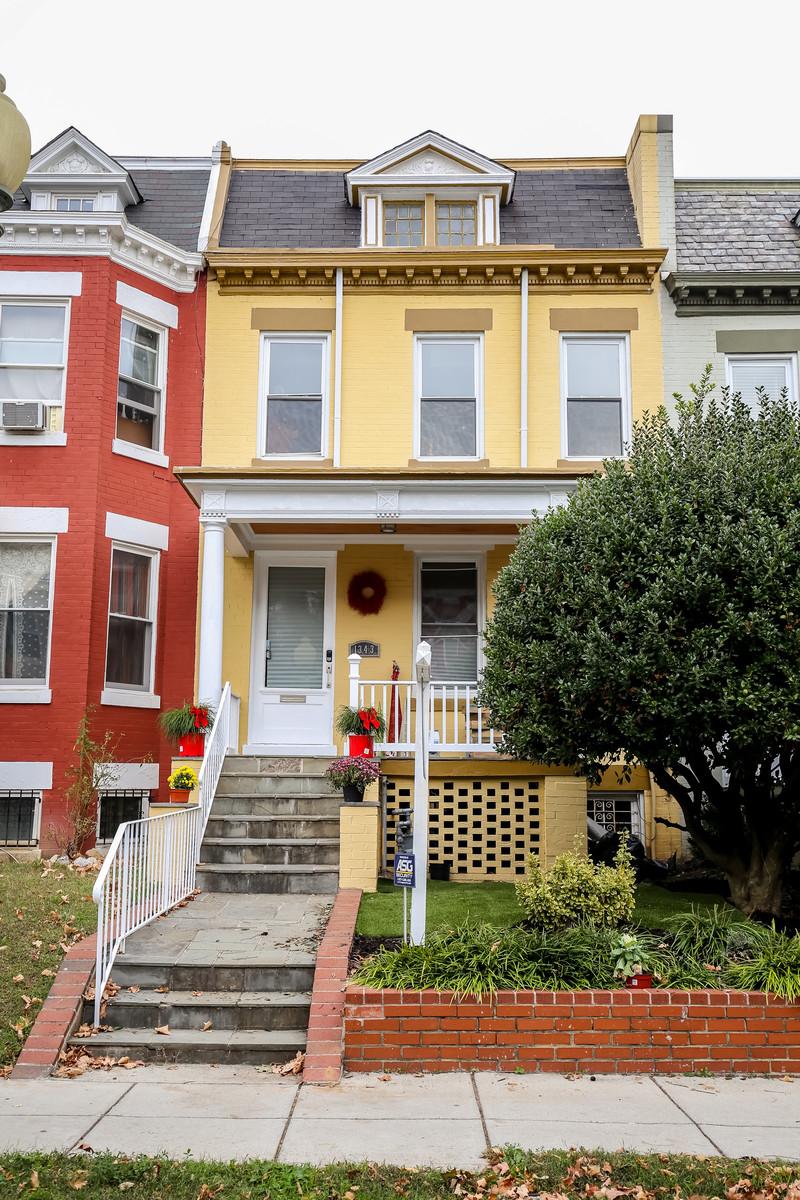 联栋屋 为 销售 在 1343 Perry Place Nw NW, Washington 1343 NW Perry Place Nw Columbia Heights, 华盛顿市, 哥伦比亚特区, 20010 美国