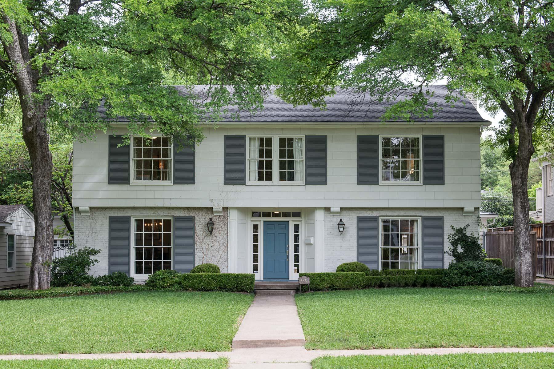獨棟家庭住宅 為 出售 在 Elegant Traditional Colonial 5527 Emerson Ave Dallas, 德克薩斯州, 75209 美國