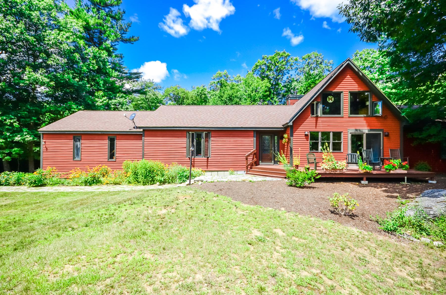Casa Unifamiliar por un Venta en 659 West Rd, Temple Temple, Nueva Hampshire, 03084 Estados Unidos