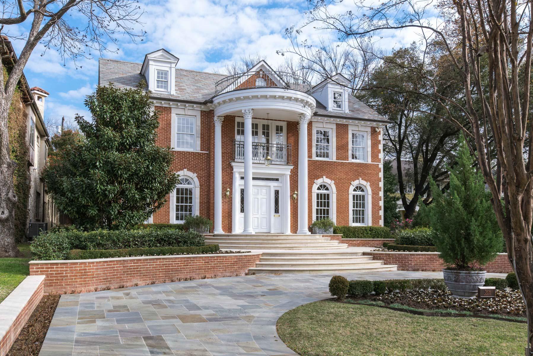 Vivienda unifamiliar por un Venta en Traditional Highland Park Estate 3616 Maplewood Ave Dallas, Texas, 75205 Estados Unidos