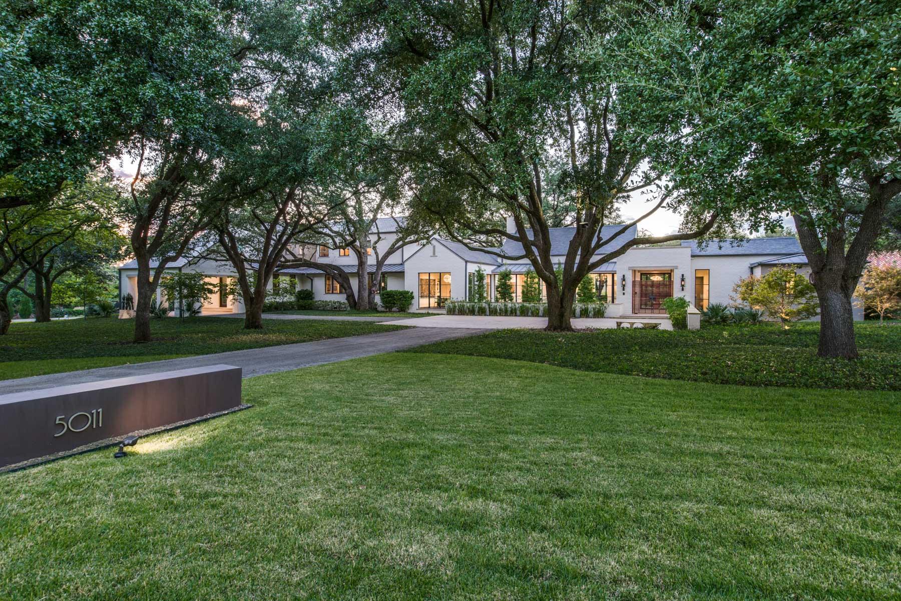 Casa Unifamiliar por un Venta en 5011 Shadywood Lane, Dallas 5011 Shadywood Ln Dallas, Texas 75209 Estados Unidos