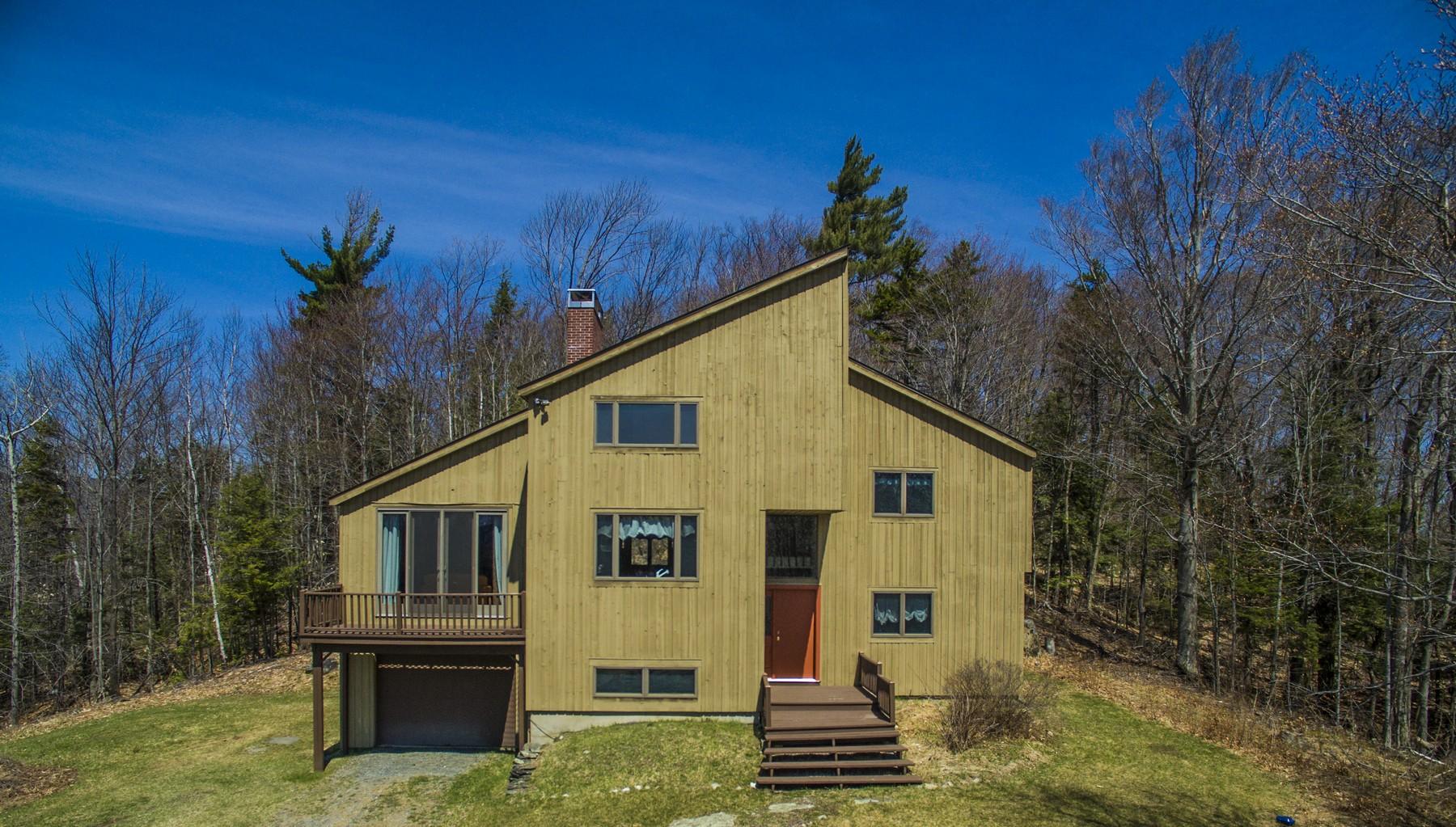 Частный односемейный дом для того Продажа на In The Heart Of Peru 455 Beechwood Ln Peru, Вермонт, 05152 Соединенные Штаты