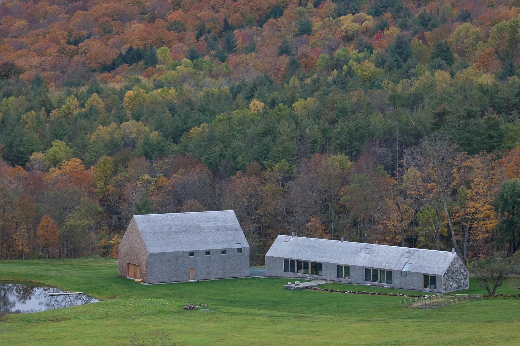 Maison unifamiliale pour l Vente à 1959 Cox District Rd, Woodstock Woodstock, Vermont, 05091 États-Unis