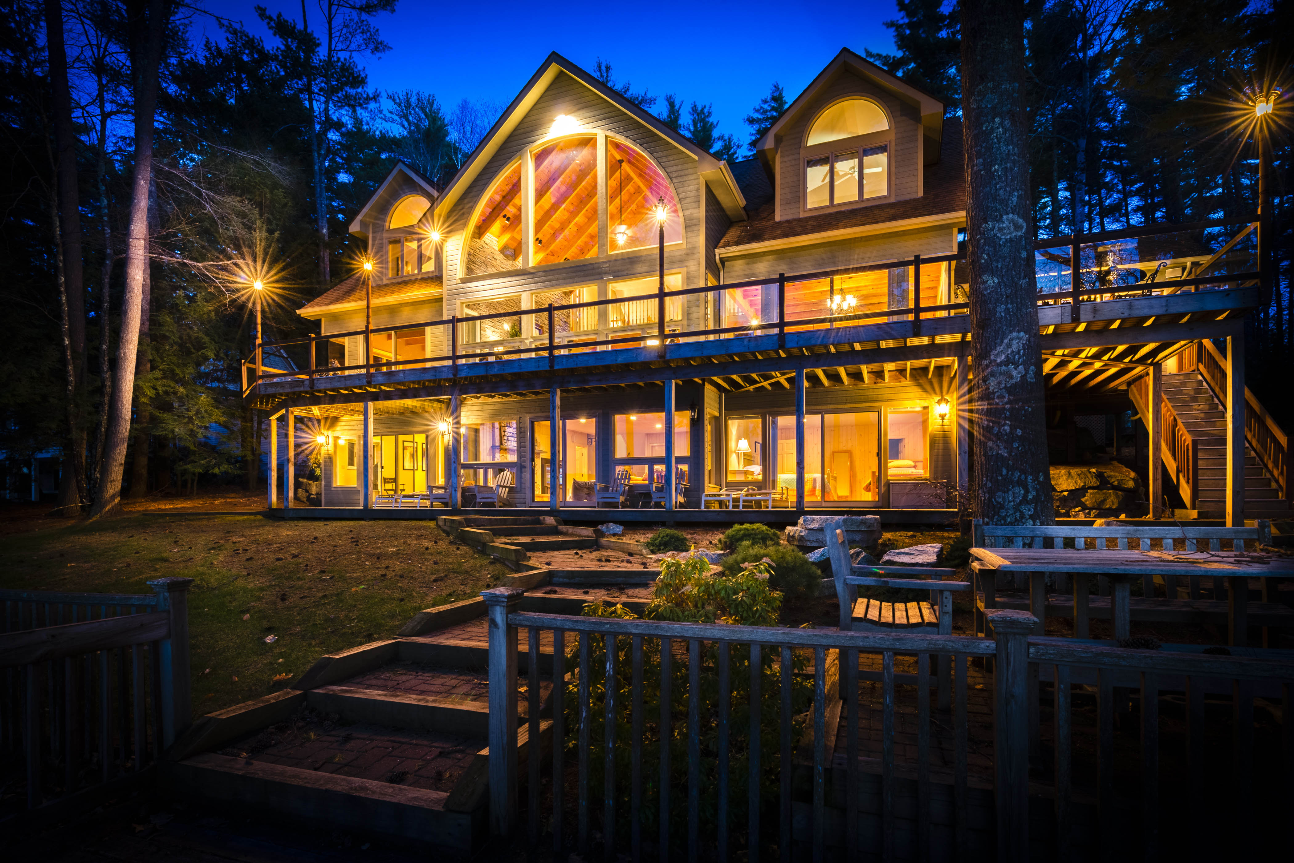 Single Family Home for Sale at 591 Forest, Wolfeboro Wolfeboro, New Hampshire, 03894 United States