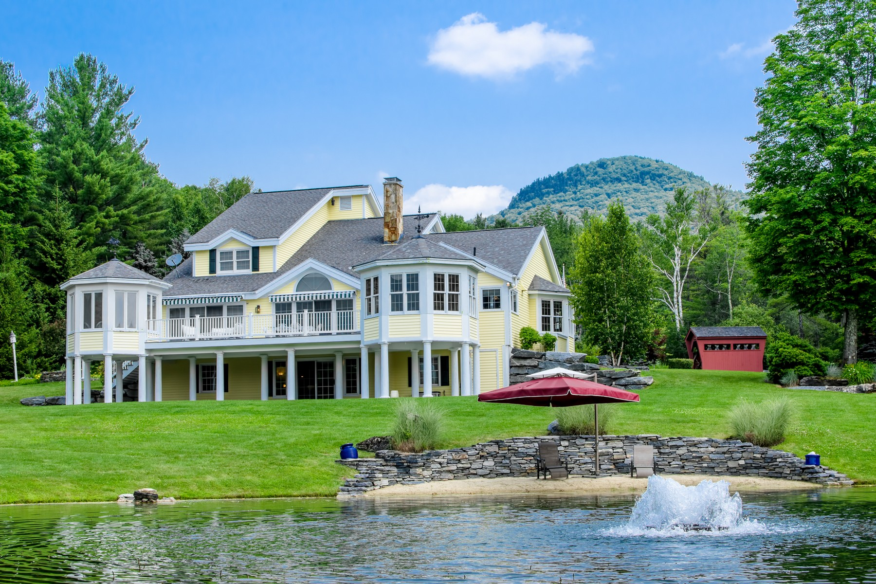 Single Family Home for Sale at 390 Owls Head Hill Lane, Dorset 390 Owls Head Hill Ln Dorset, Vermont, 05251 United States