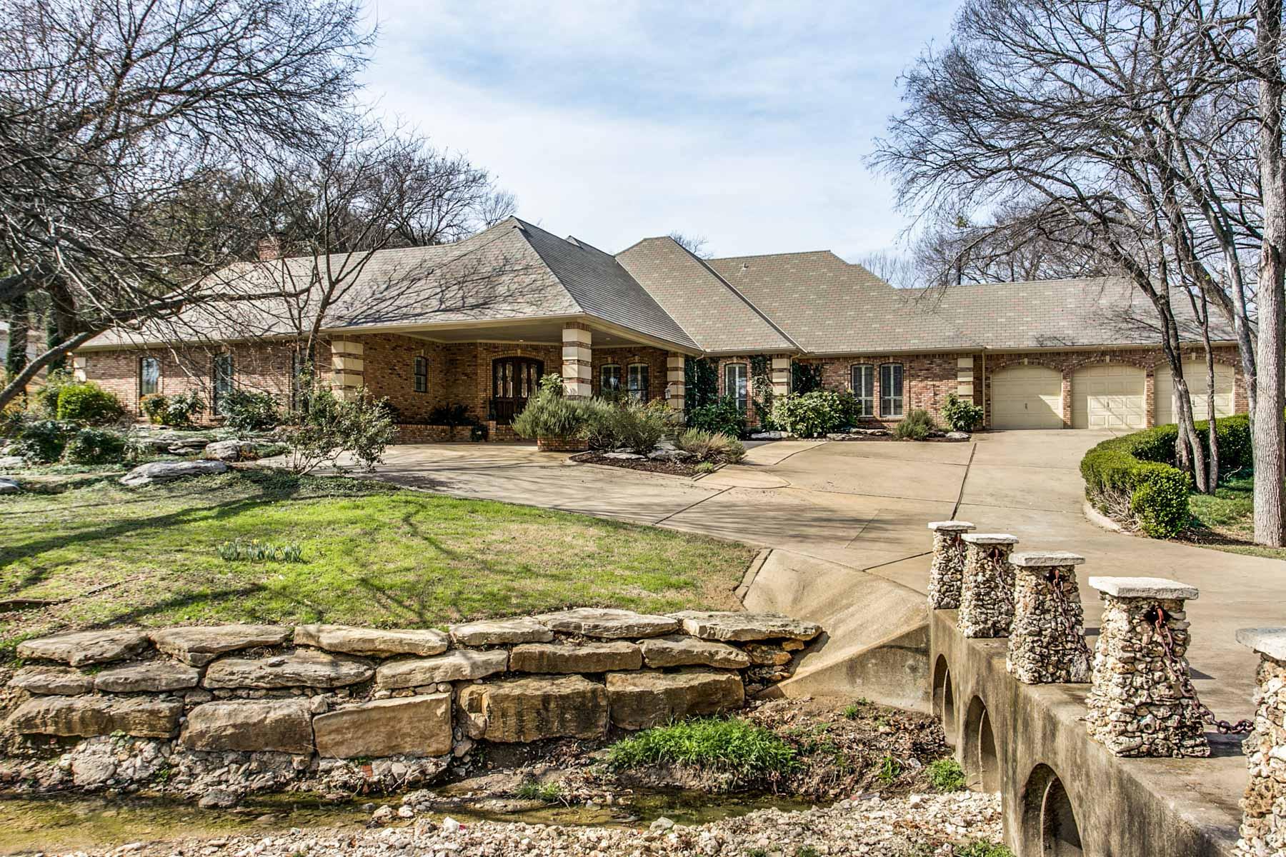 一戸建て のために 売買 アット 4024 Edgehill Rd, Fort Worth Fort Worth, テキサス, 76116 アメリカ合衆国