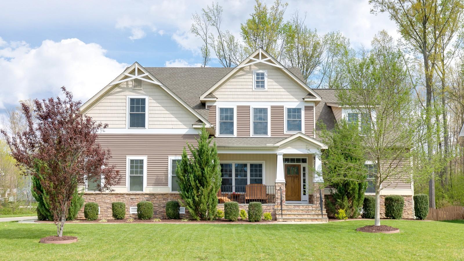 独户住宅 为 销售 在 3802 Evershot Court, Midlothian 3802 Evershot Ct 中洛锡安郡, 弗吉尼亚州, 23112 美国