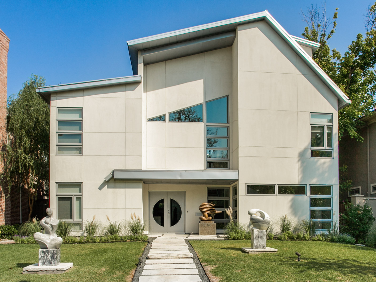 Maison unifamiliale pour l Vente à Stunning Highland Park Contemporary 3314 Dartmouth Ave Dallas, Texas, 75205 États-Unis