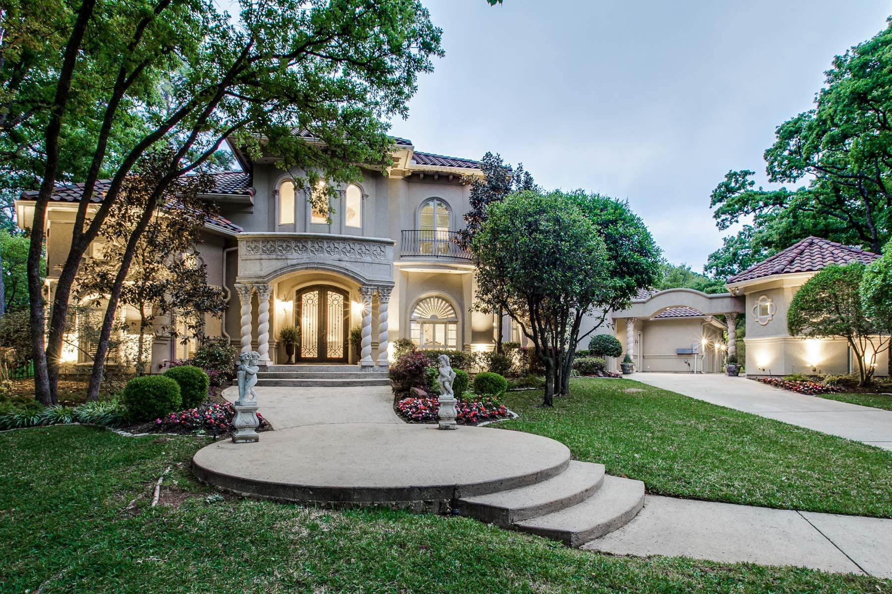 sales property at Southlake Tuscan Villa