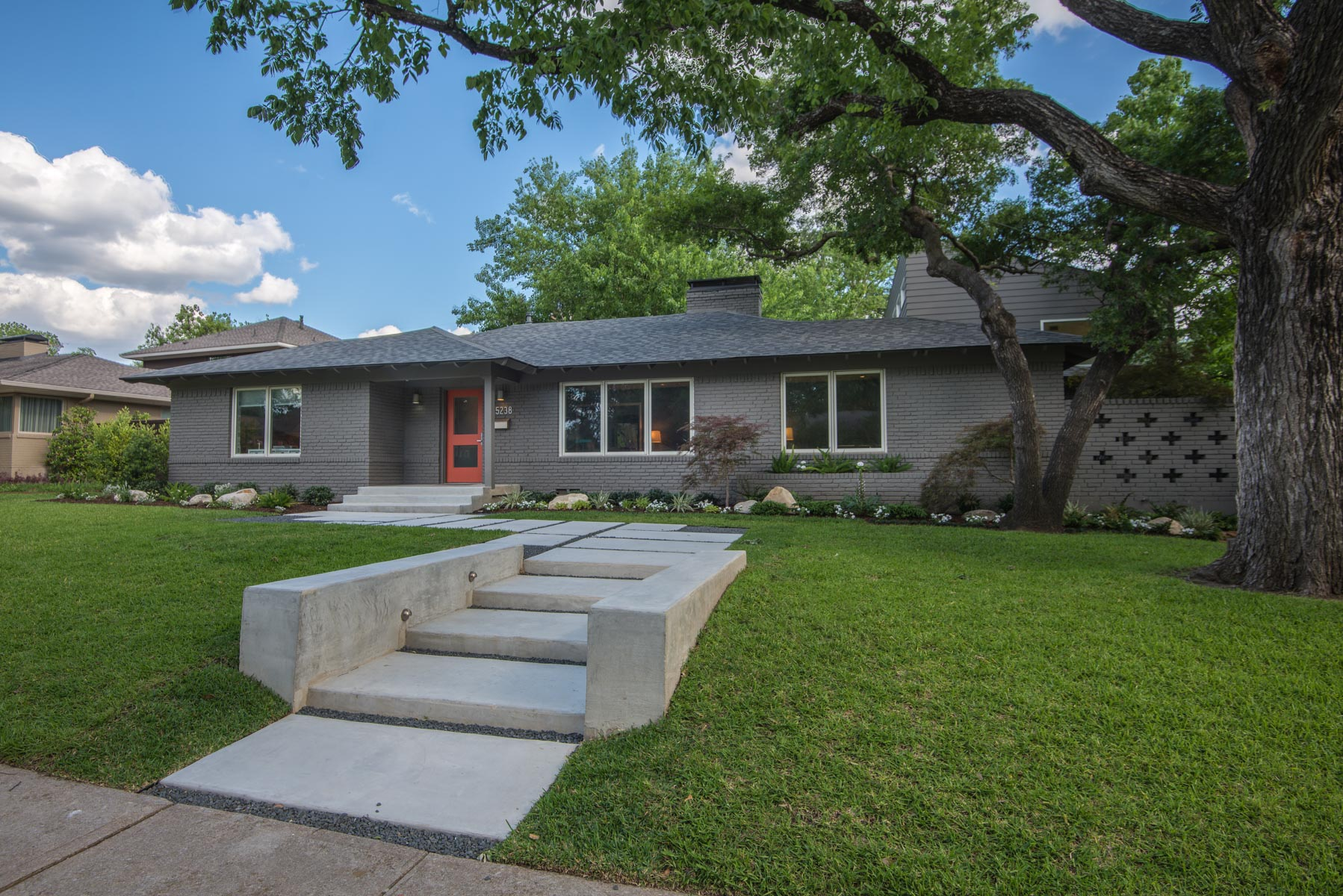 Single Family Home for Sale at Mid-Century Modern 5238 Edmondson Ave Dallas, Texas, 75209 United States