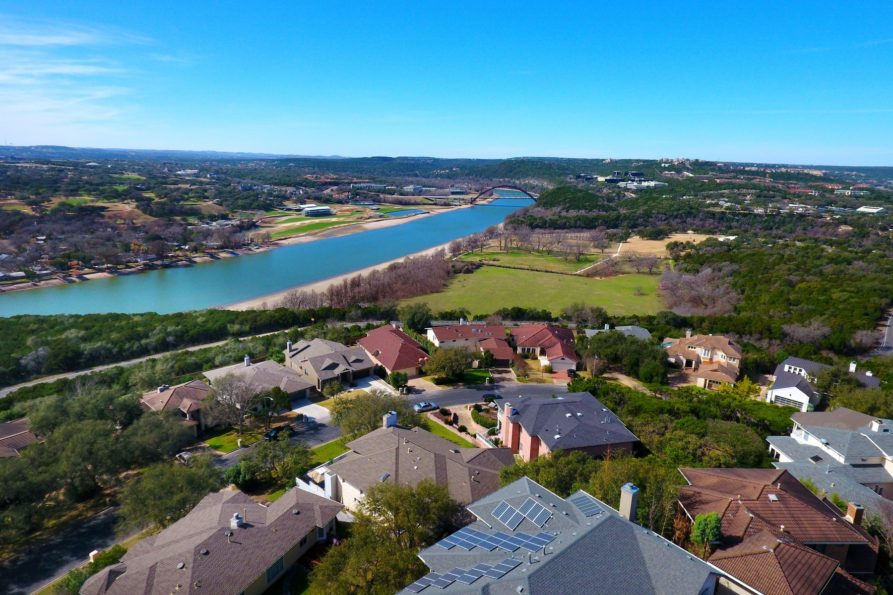 Single Family Home for Sale at Northwest Hills Contemporary with Pool and Views 5823 Westslope Dr Austin, Texas 78731 United States