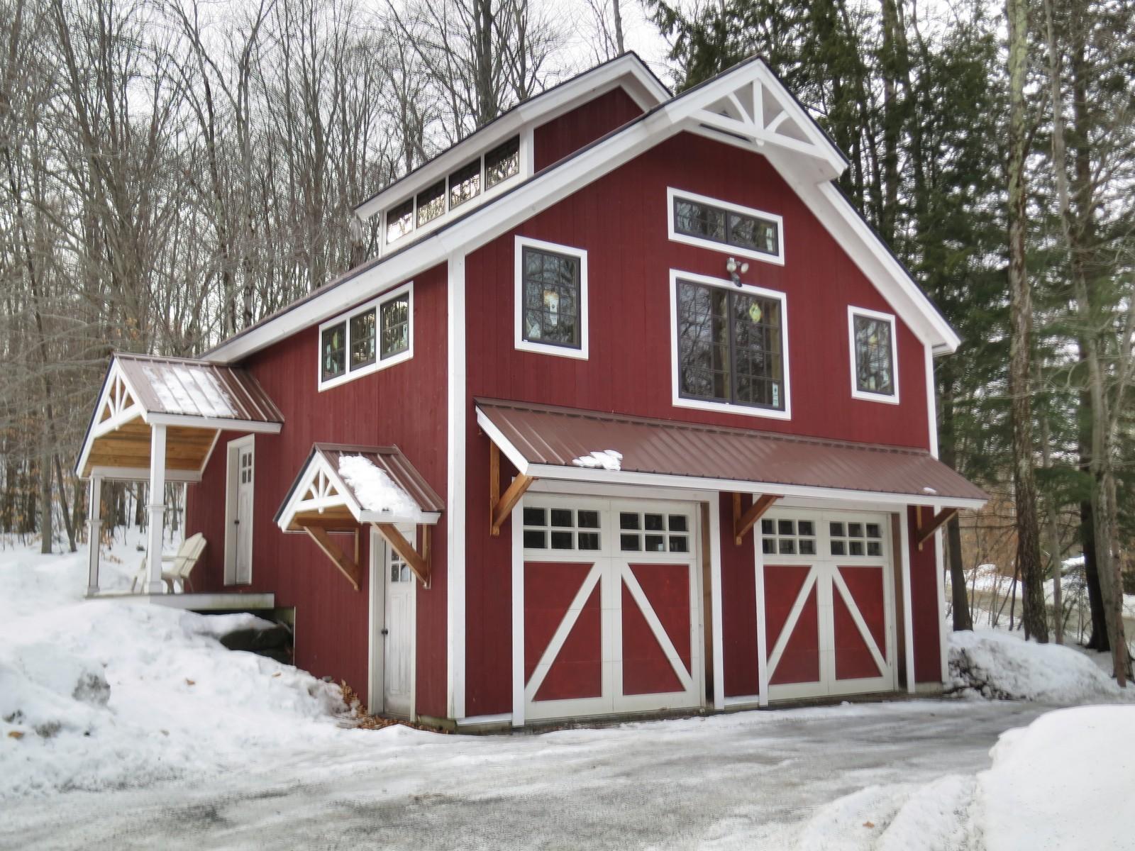 Maison unifamiliale pour l Vente à 308 Mountain Acres Road, Jamaica 308 Mountain Acres Rd Jamaica, Vermont, 05343 États-Unis